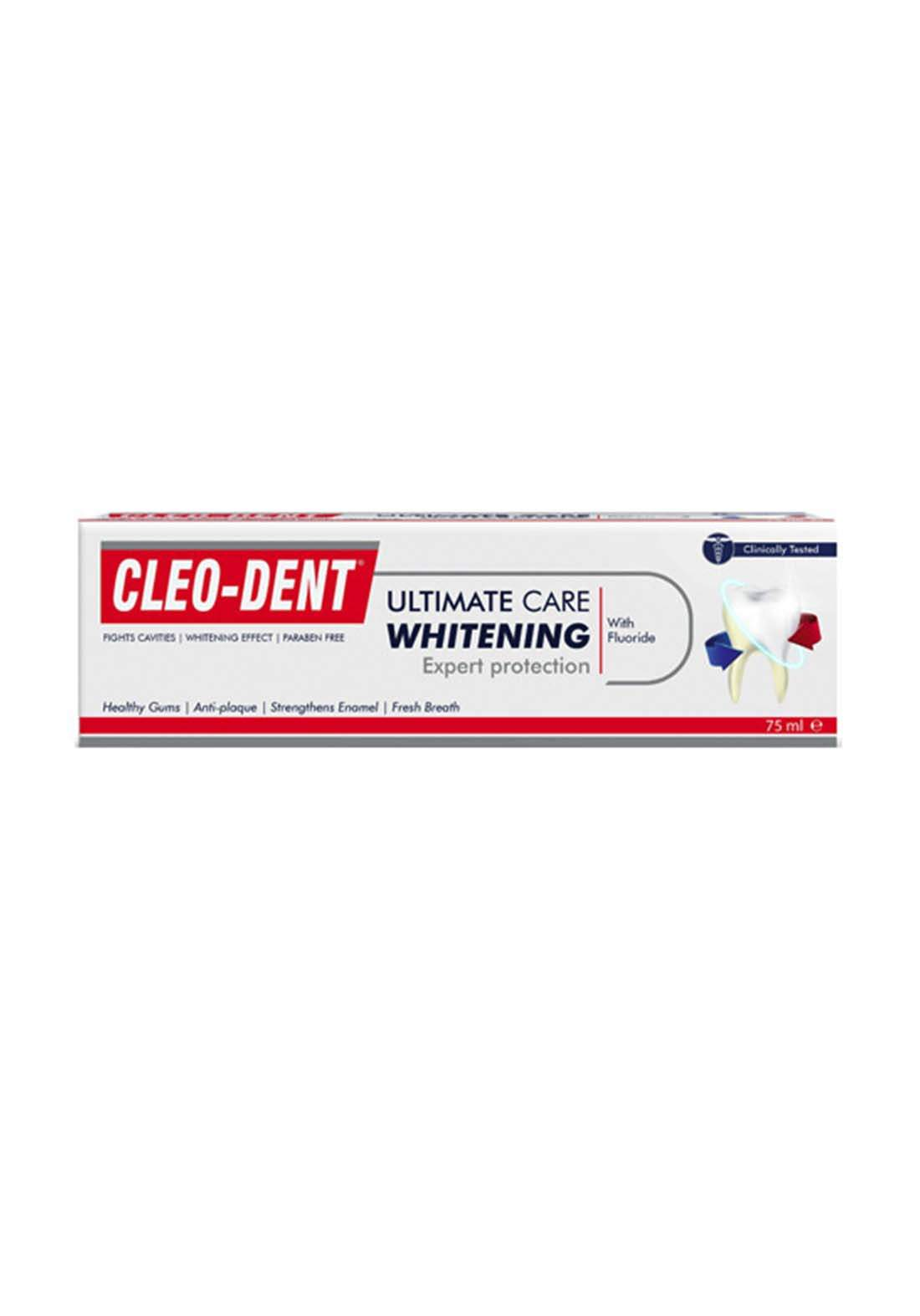Cleo Dent Ultimate Whitening Toothpaste 75ml معجون اسنان