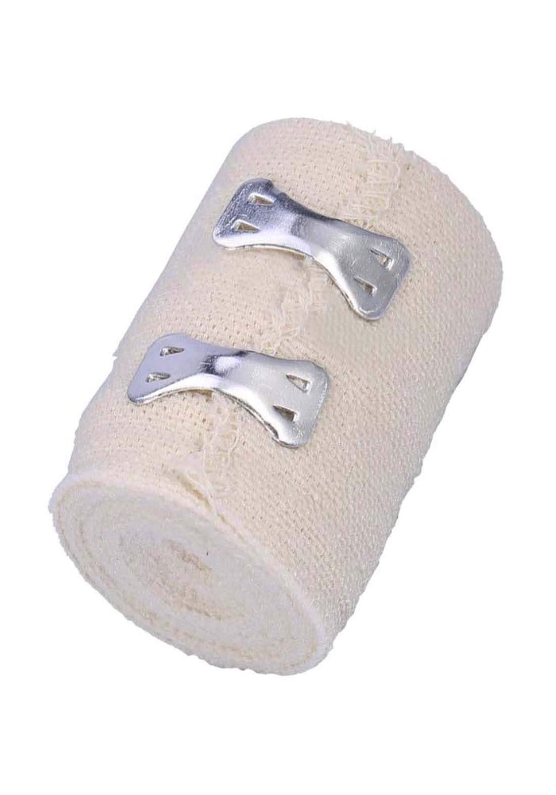 Optimal  Non sterile elastic bandage 7.5cm*4.5m   ضمادات طبية مطاطة بمشبك معدني