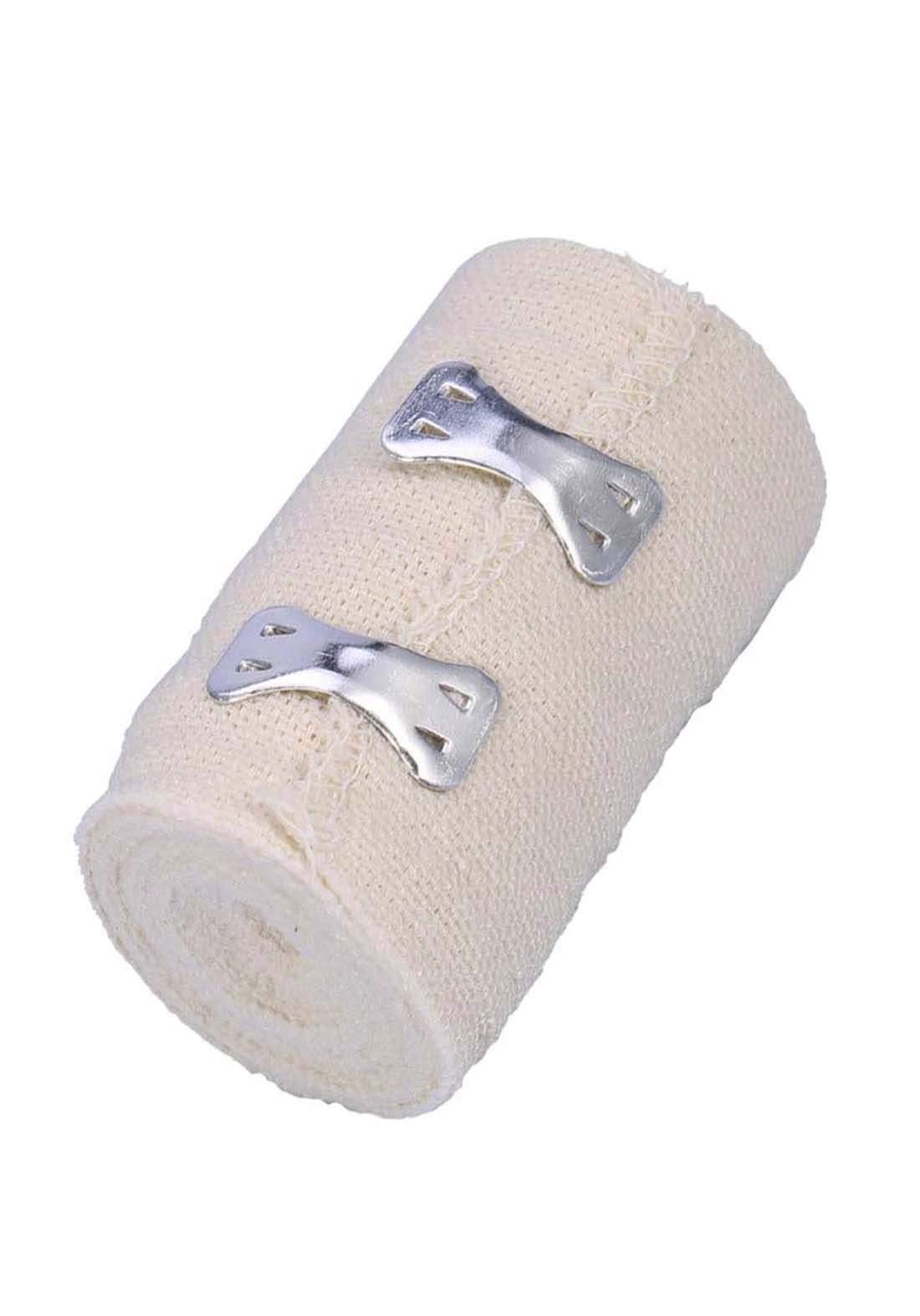 Optimal medical elastic bandages with clips 10cm*4m  ضمادات طبية مطاطة بمشبك معدني