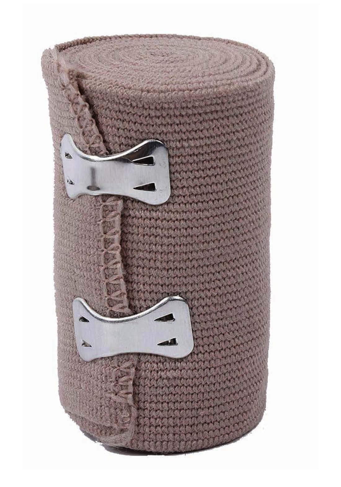 Optimal High elastic bandage 7.5cm*4.5m ضمادات طبية مطاطة بمشبك معدني