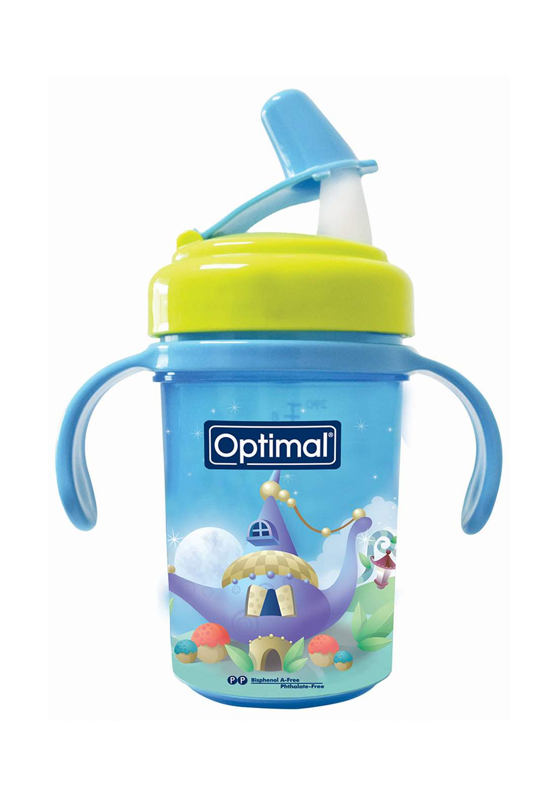 Optimal Silicone Spout Cup With Handle  كوب للأطفال