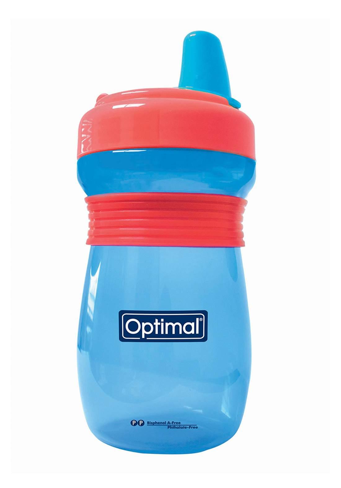 Optimal Non Spill Feeding Bottle With Handle 300ml كوب للأطفال