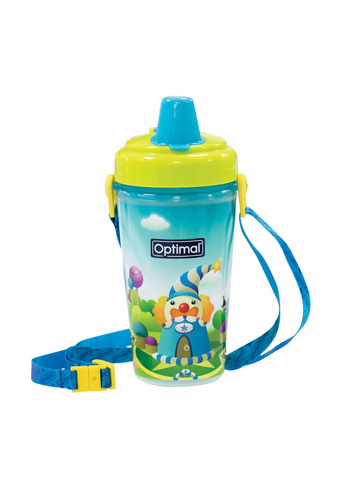 Optimal Silicone Spout Bottle 12m 350ml كوب للاطفال