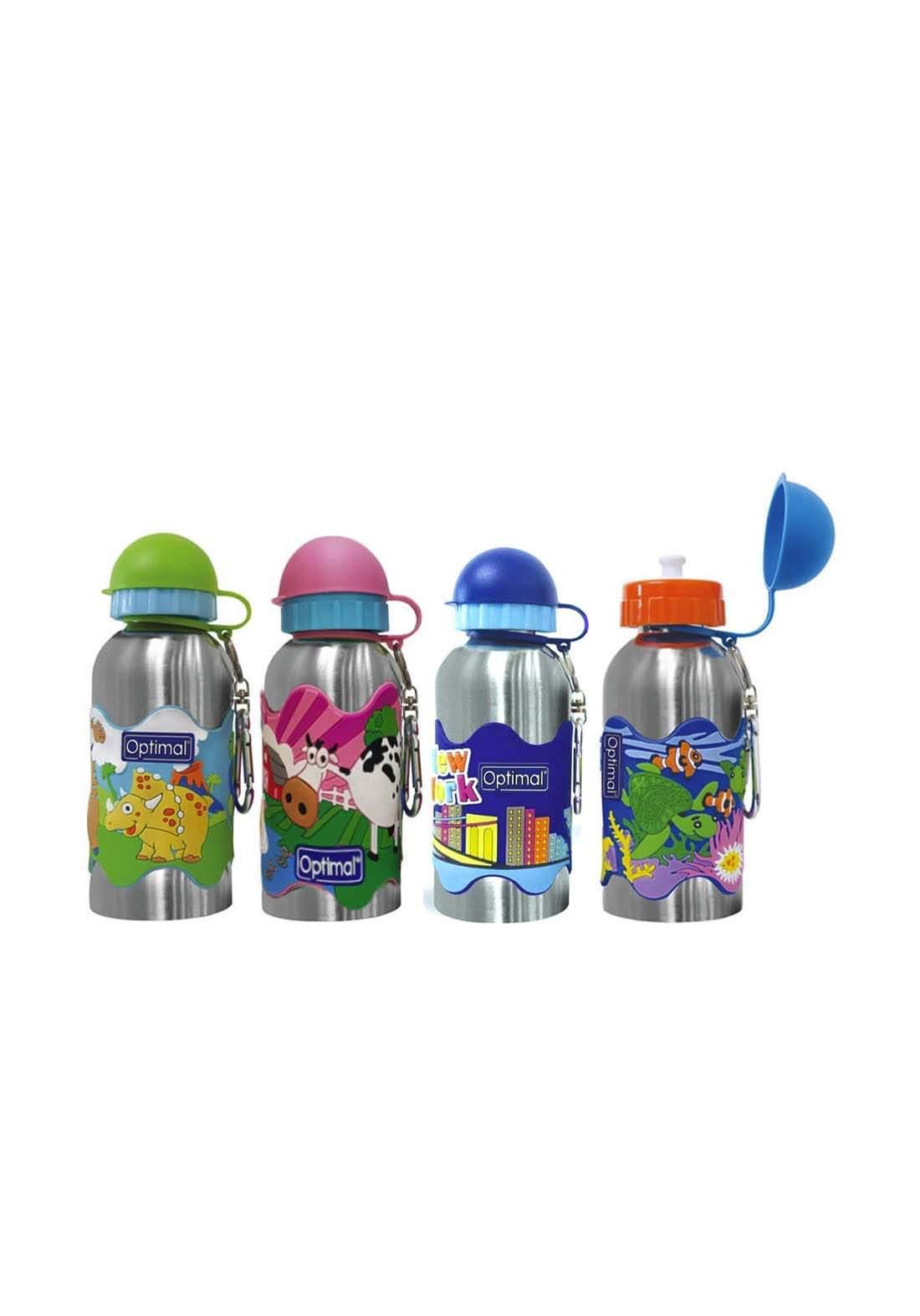 Optimal Stainless steel water bottel 350ml مطارة أطفال