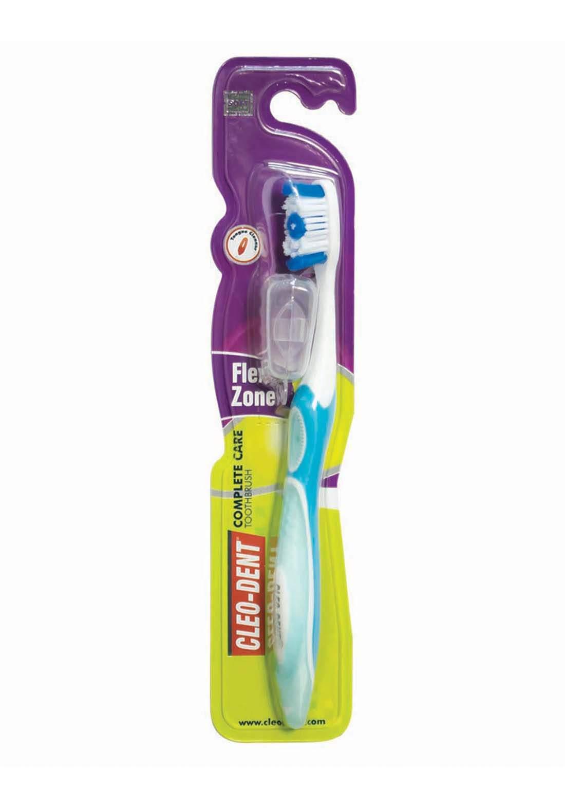 Cleo-Dent  Double Protection Tooth Brush  Medium فرشة اسنان  متوسطة
