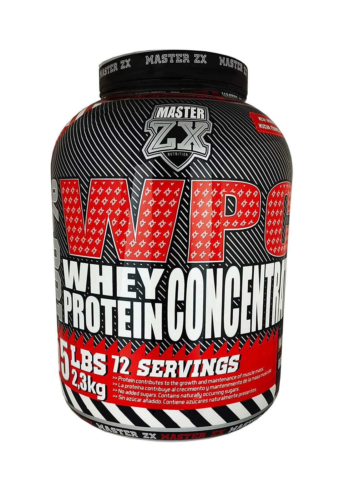 Master Zx Wpc  Whey Pure Protein Powder -2.3 Kg مكمل غذائي