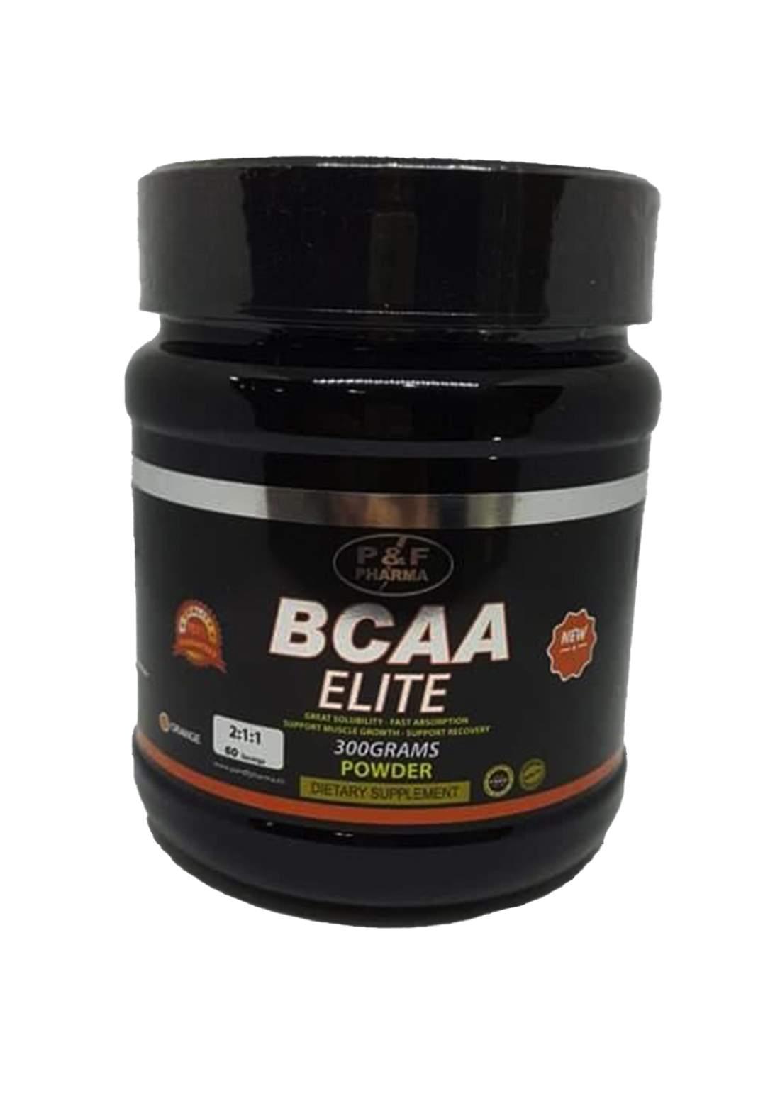 P&F Pharma Bcaa powder-300gm مكمل غذائي