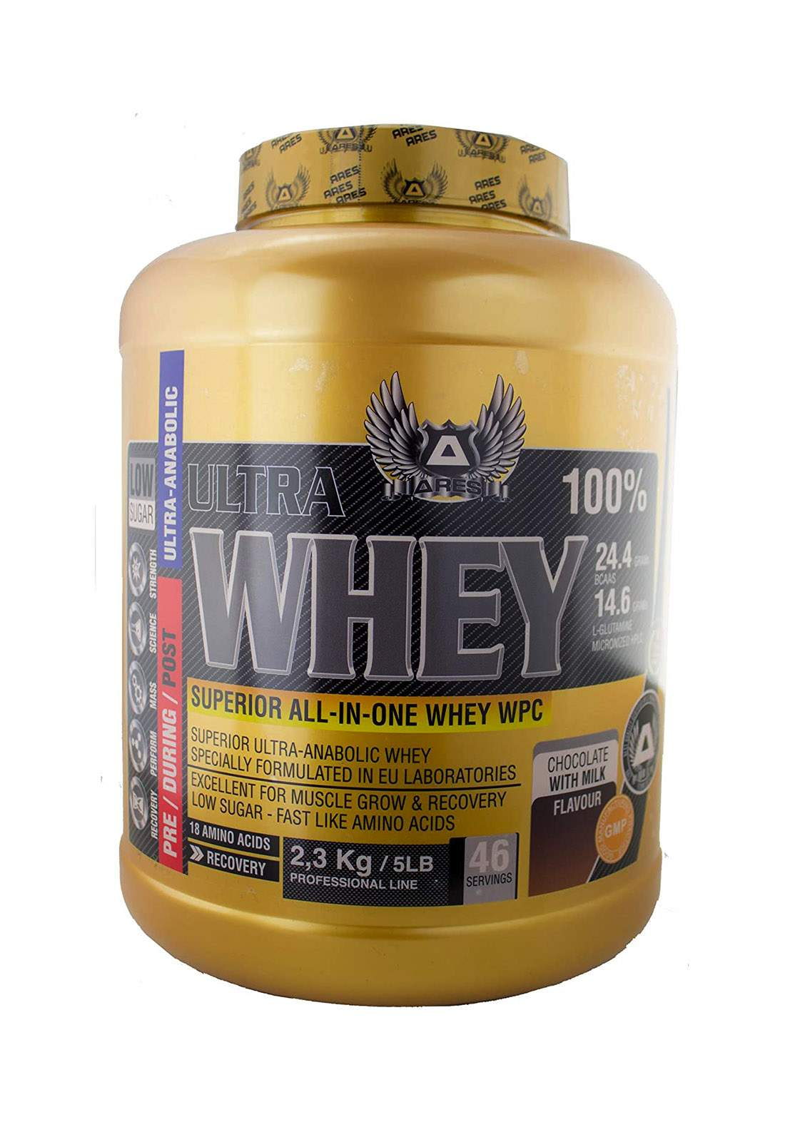 Ares Proteina Whey Ultra - 2.3 Kg  مكمل غذائي