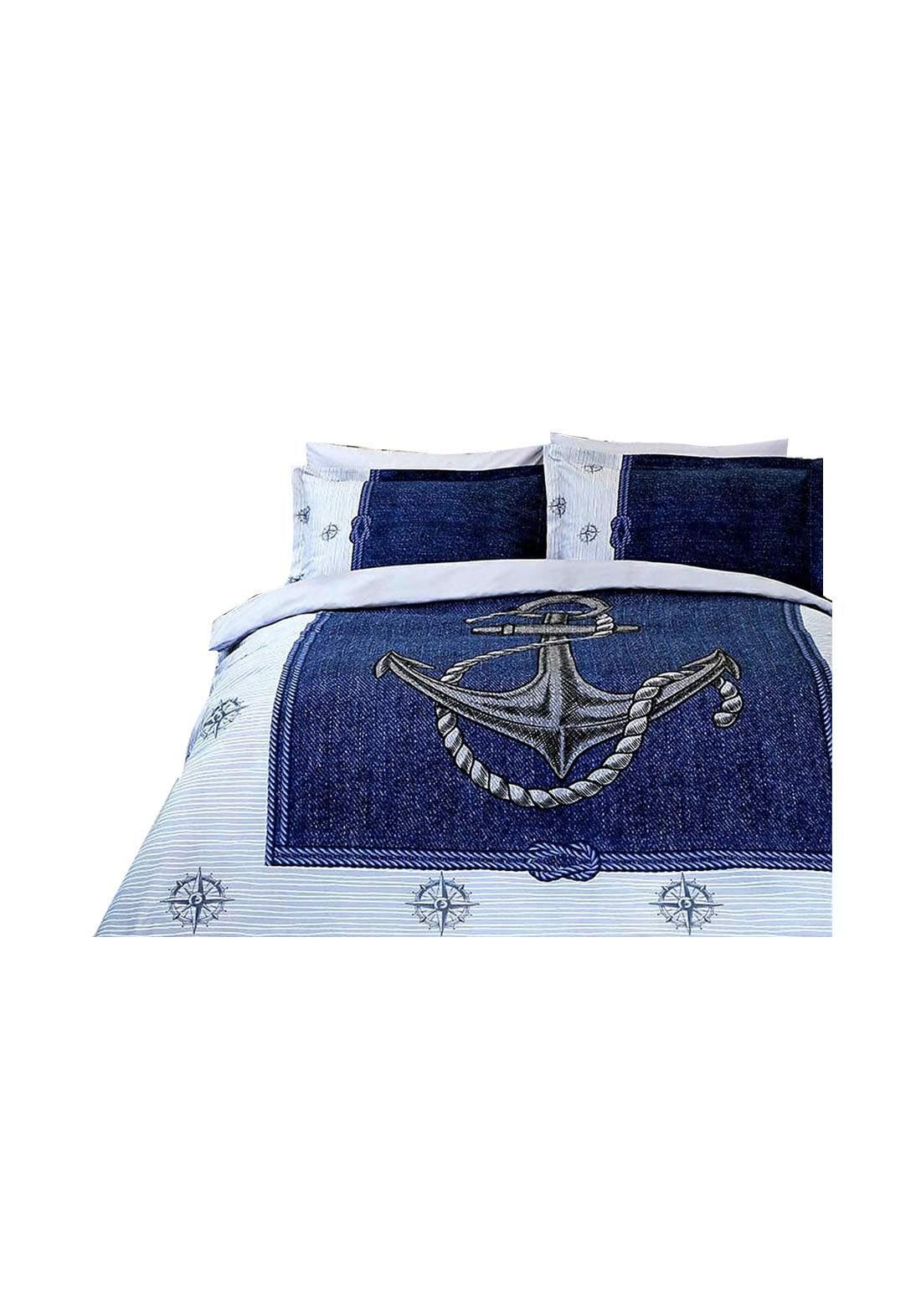 طقم غطاء سرير نفرين