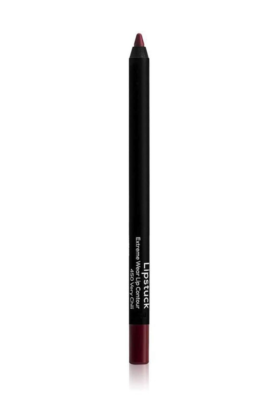 Wow By Wojooh 2522W450 Lipstuck Extreme Wear Lip Contour No.450 Very Chili 1.20g محدد الشفاه