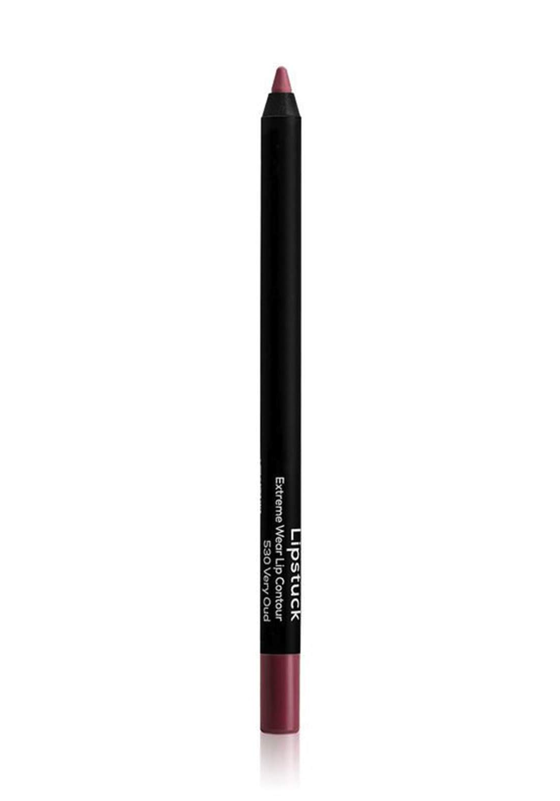 Wow By Wojooh W530 Lipstuck Extreme Wear Lip Contour No.530 Very Oud 1.20g محدد الشفاه