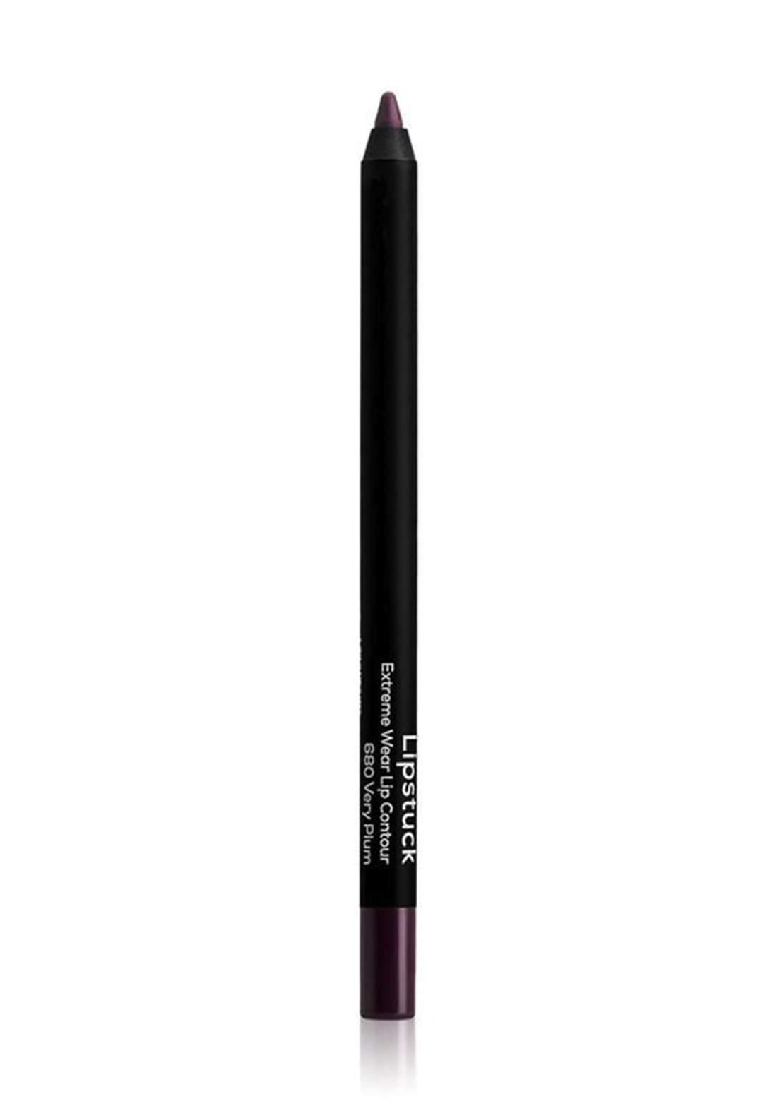 Wow By Wojooh W680 Lipstuck Extreme Wear Lip Contour No.680 Very Plum 1.20g محدد الشفاه