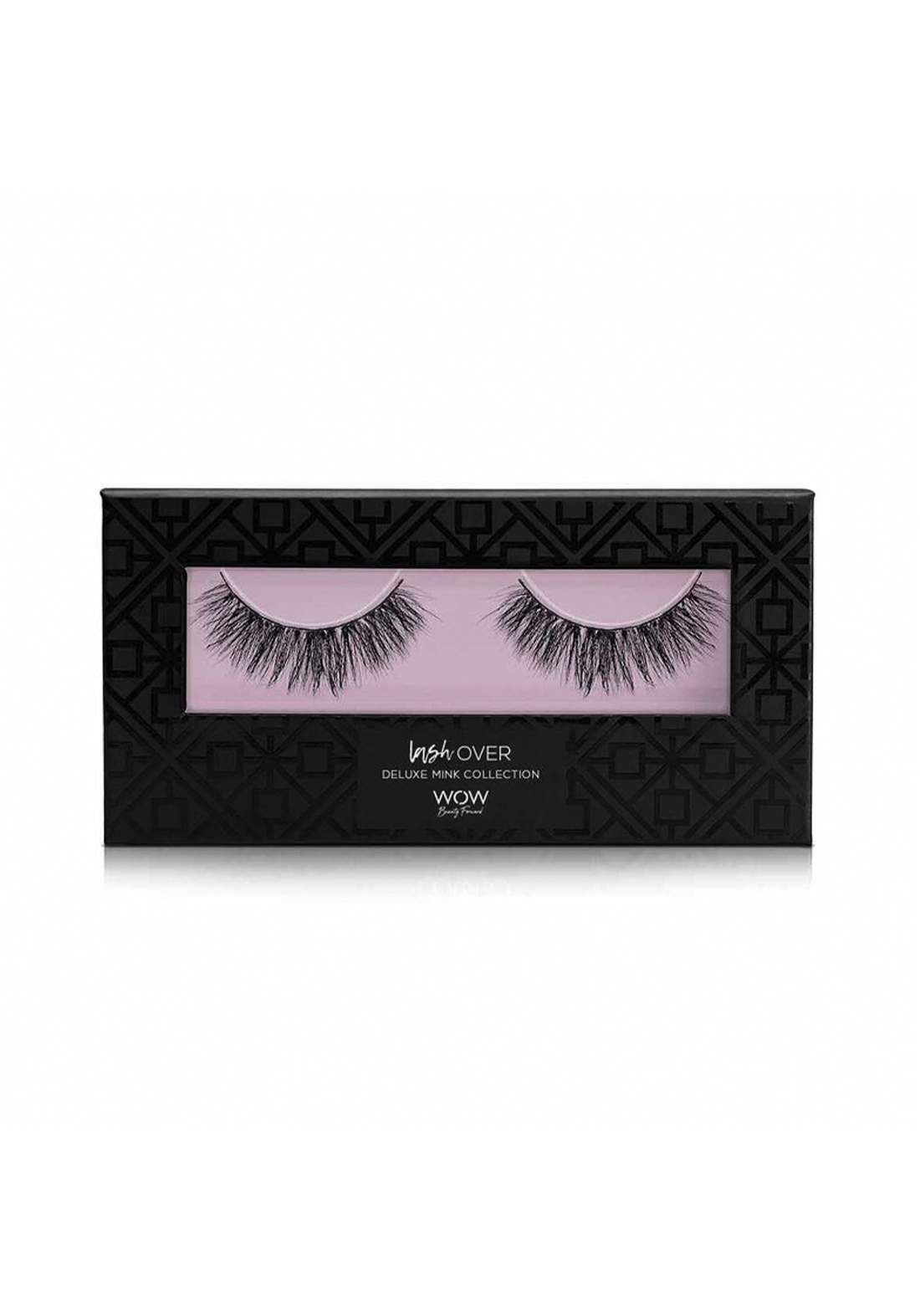 Wow By Wojooh W100 Lash Over Deluxe Mink رموش