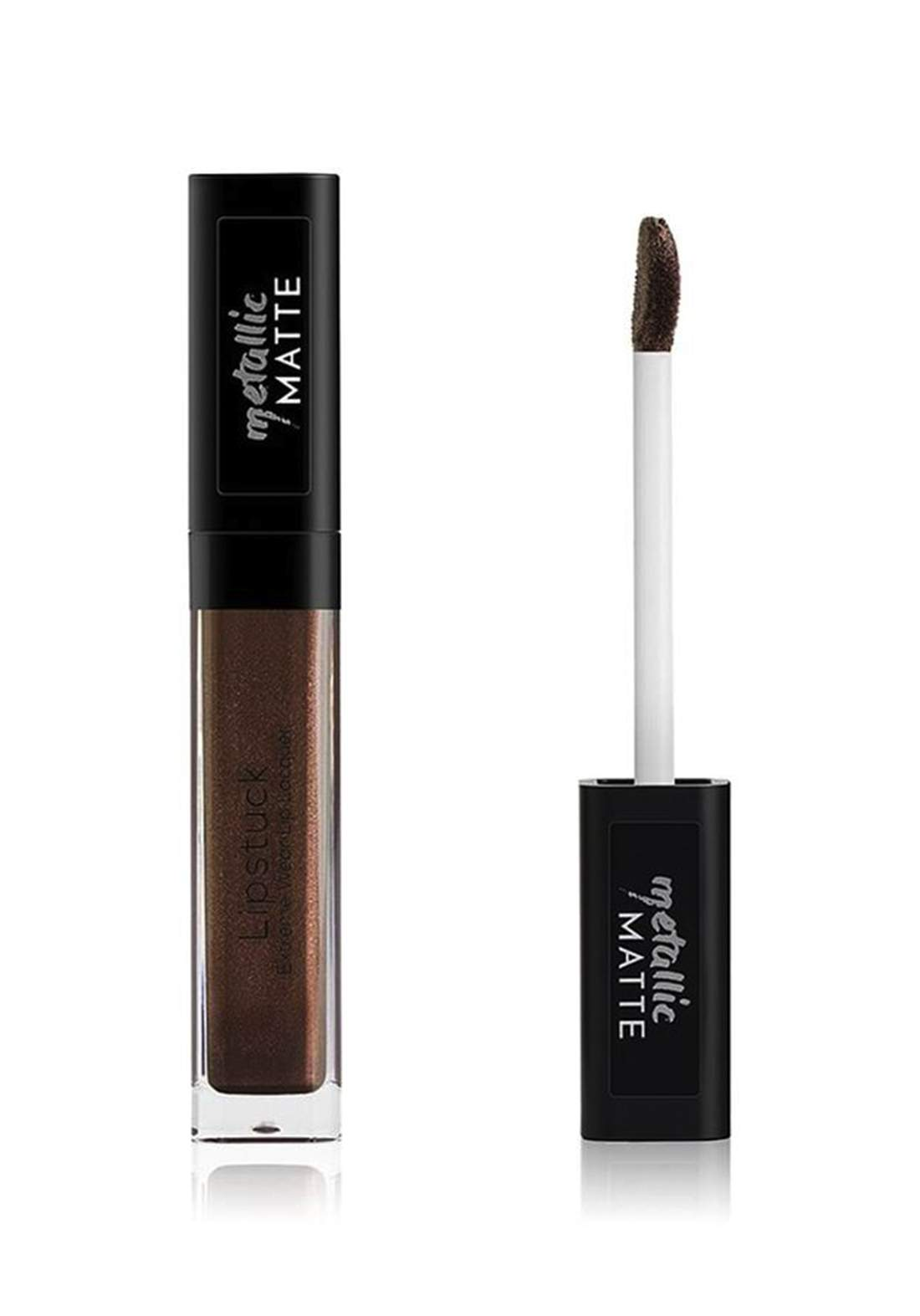 Wow by Wojooh 7E103 Lipstuck Extreme Wear Lip Lacquer No.265 Metal Earth 6.5ml احمر شفاه