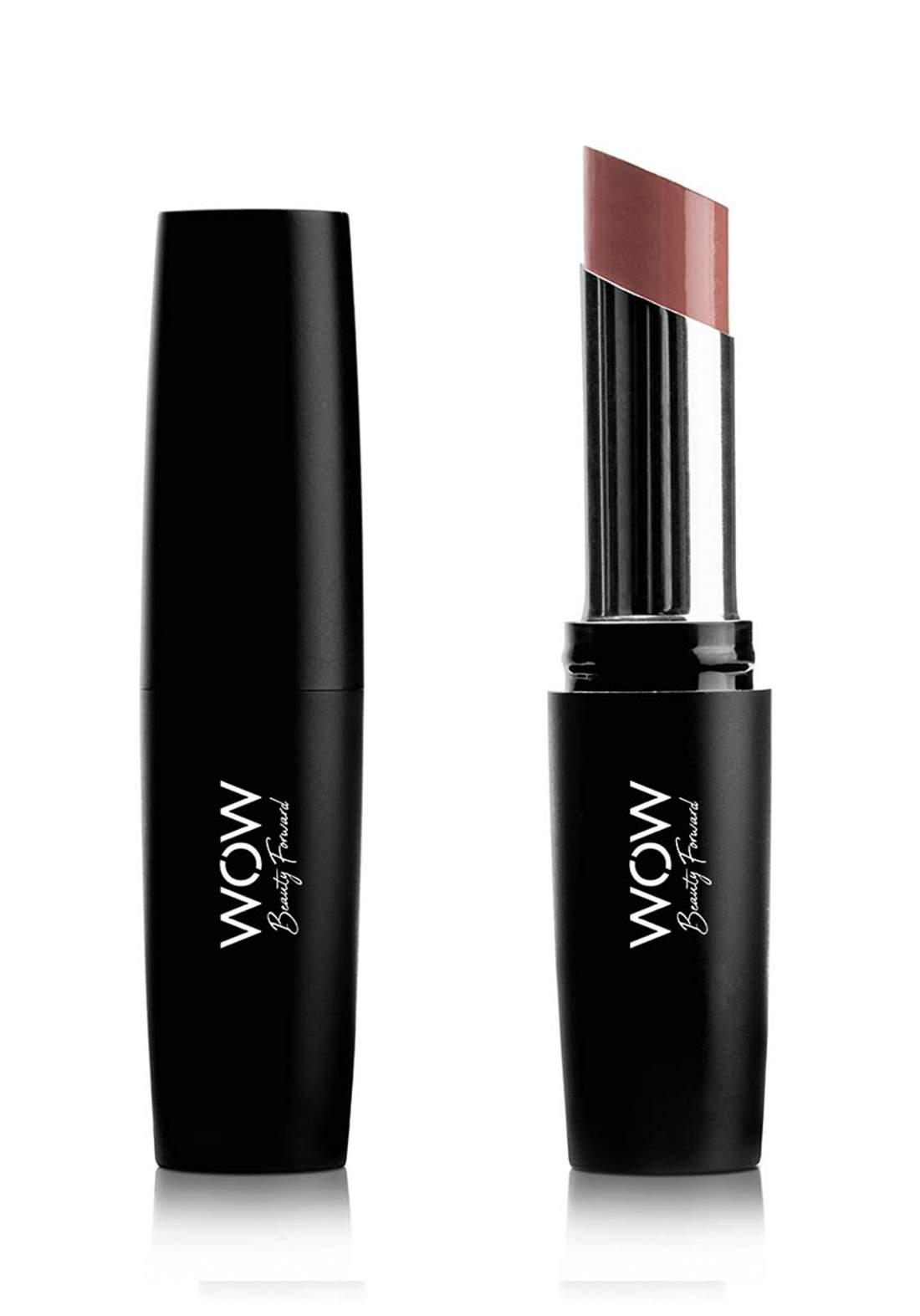 Wow By Wojooh 3918 Matte Madness Long Wear Lipstick No.250 Wild Wood 3g احمر شفاه