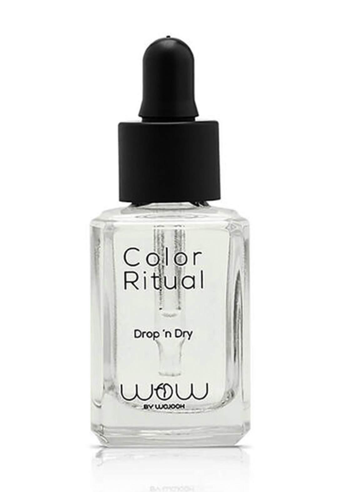 Wow By Wojooh 601 Color Ritual Drop'N Dry 10ml مجفف طلاء الاظافر