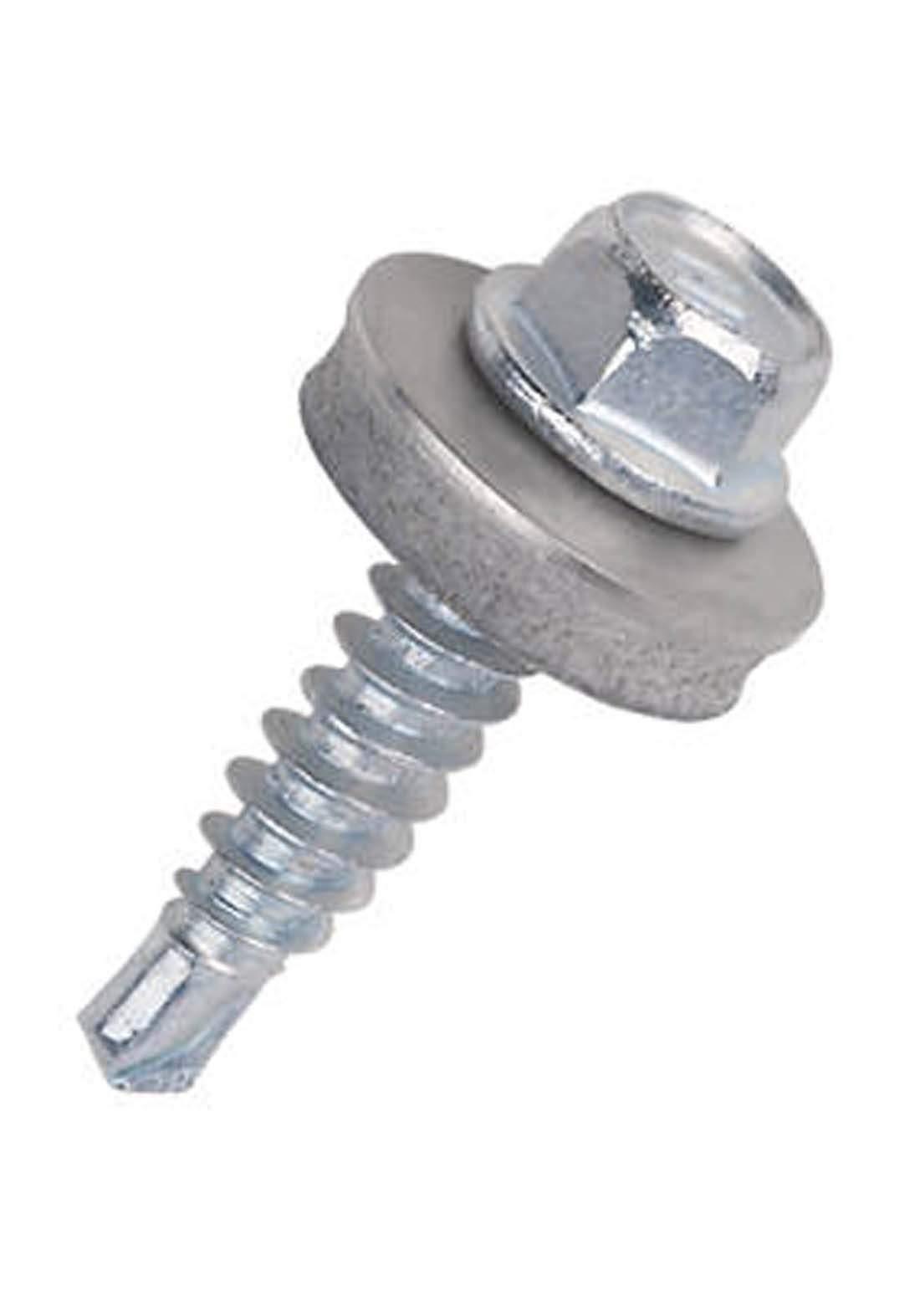 Patta Self Drilling Screw Hex Washer Head 6.3*25 mm  برغي برينة