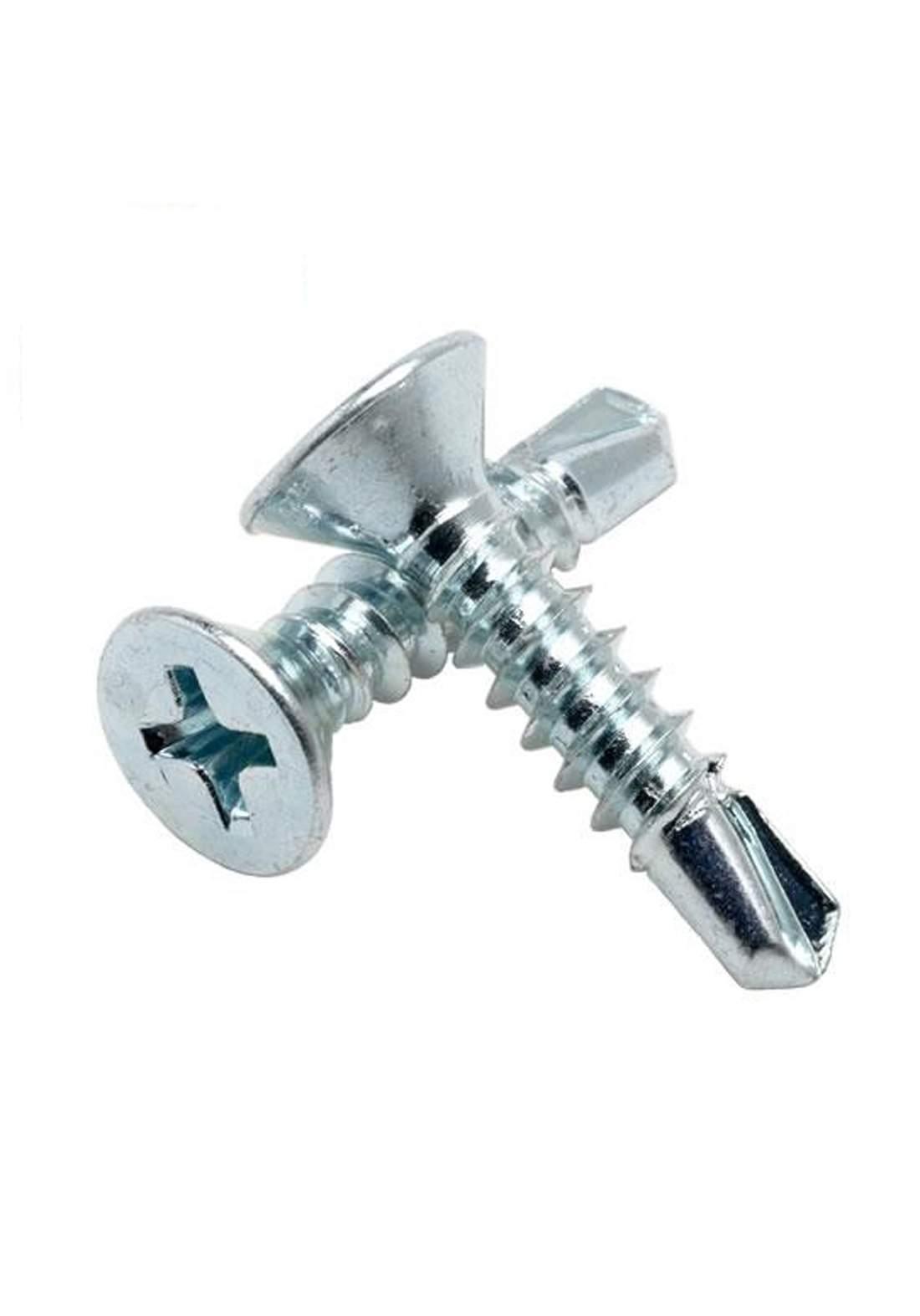 Patta Self Drilling Screw Flat Phillips 4.2*38 mm برغي فيليبس