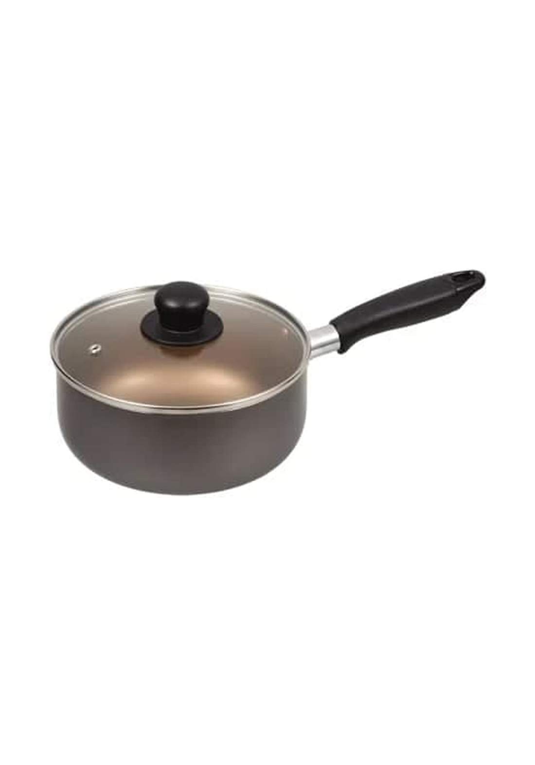 Pearl Metal HB8012 Dinners Fluorine One-Handed Pot 18cm قدر طعام