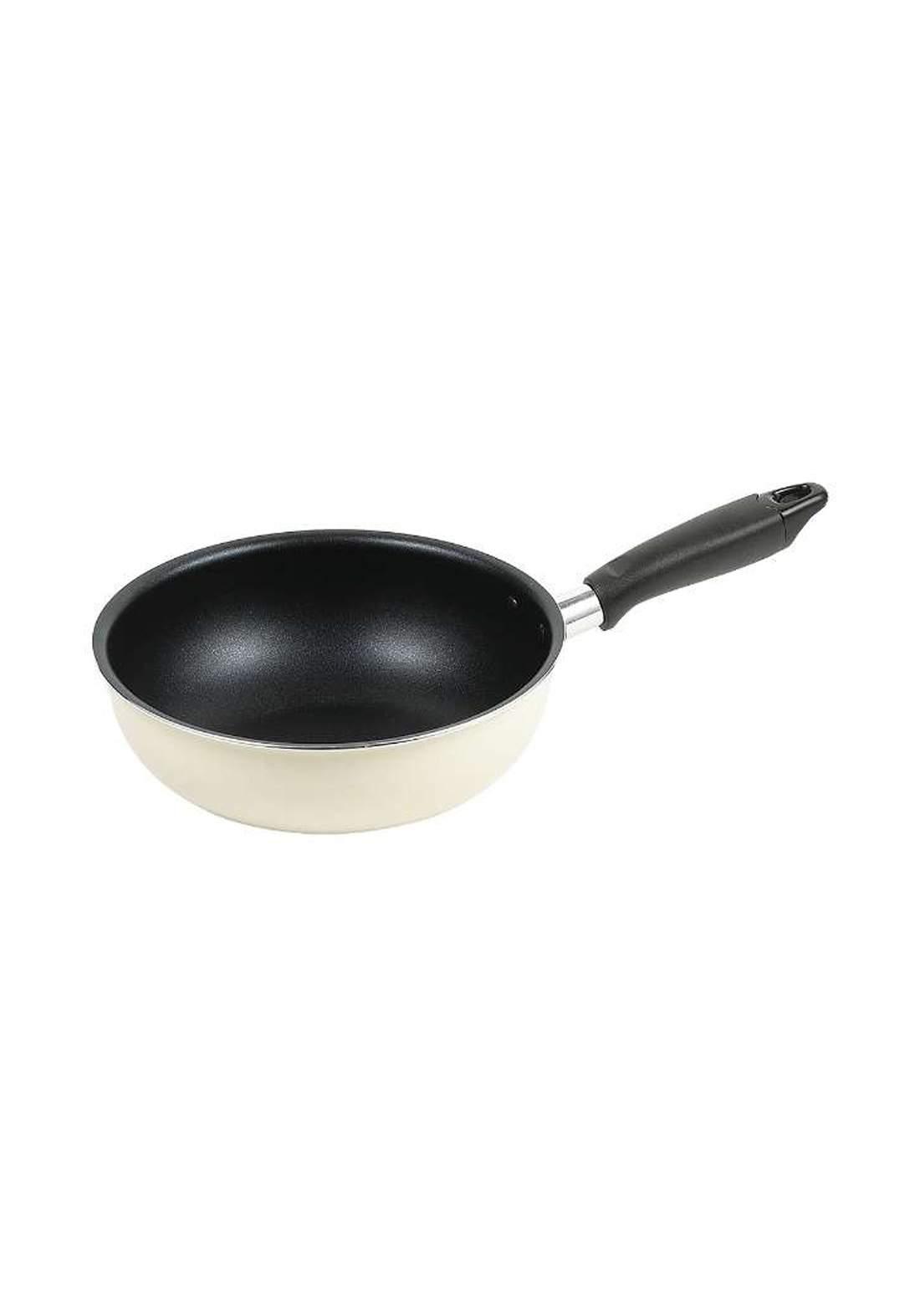 Pearl Metal HB-8224  Monostyle Fluorine processing Stir-fry pot  مقلاة طعام
