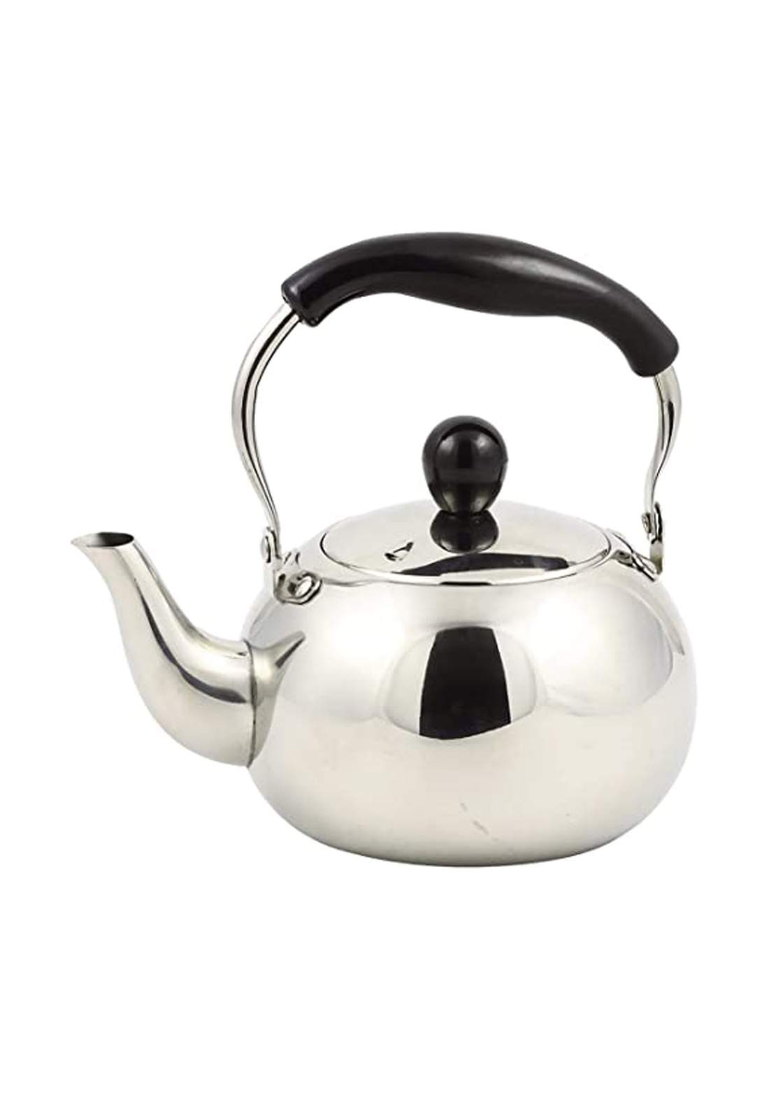 Pearl Metal HB-4416 Kettle Silver 1.0L Stainless Steel ابريق شاي