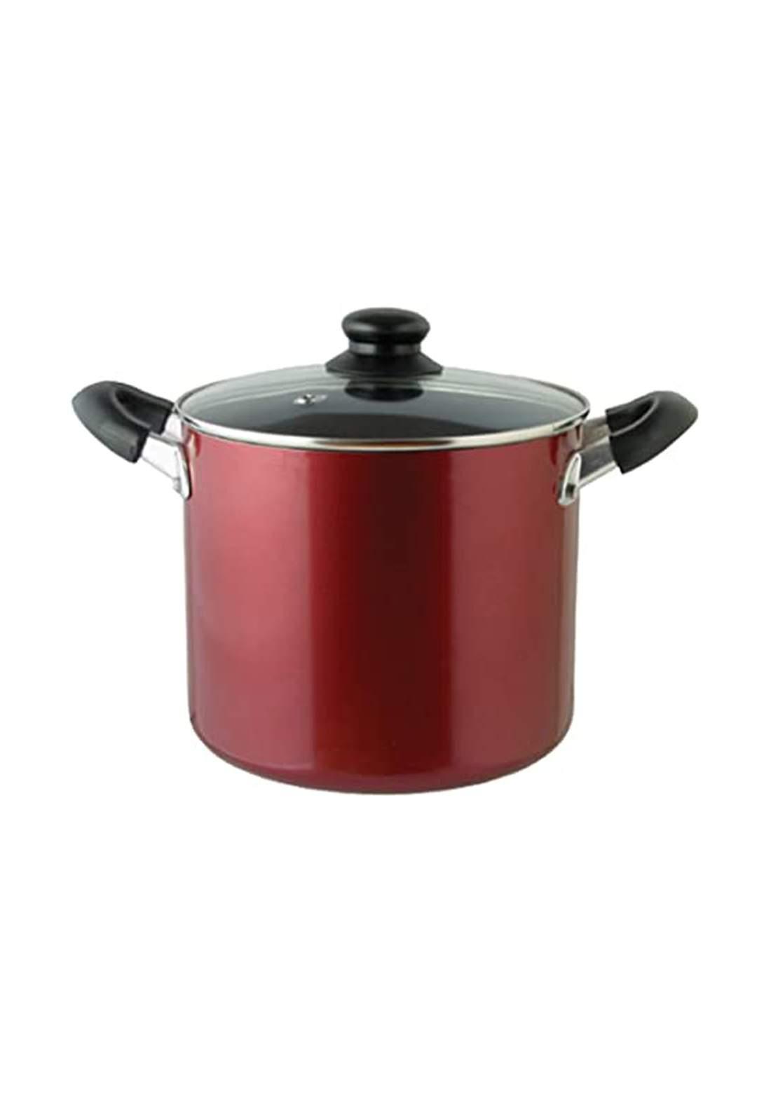 Pearl Metal H-2093 Scale Pot 21 cm قدر طعام مع غطاء من بايركس