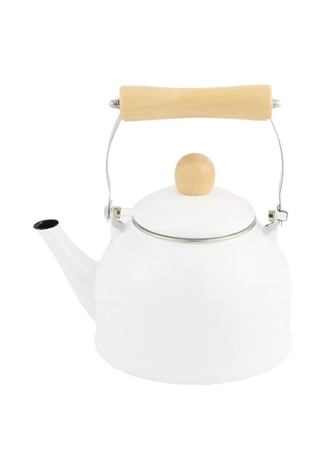 Pearl Metal HB-4901Mini IH compatible Enamel Kettle  1.4 L ابريق شاي