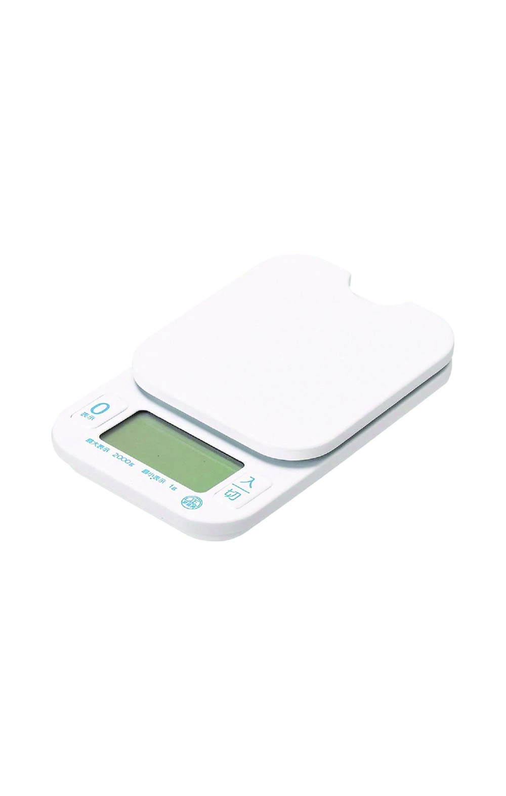 Pearl Metal D-6466 [Amount HAKARI Digital Kitchen Scale 2.0kg ميزان مطبخ ألكتروني