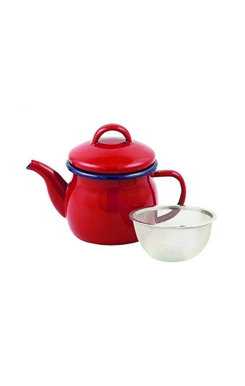 Pearl Metal Teapot Red 580ml ابريق شاي