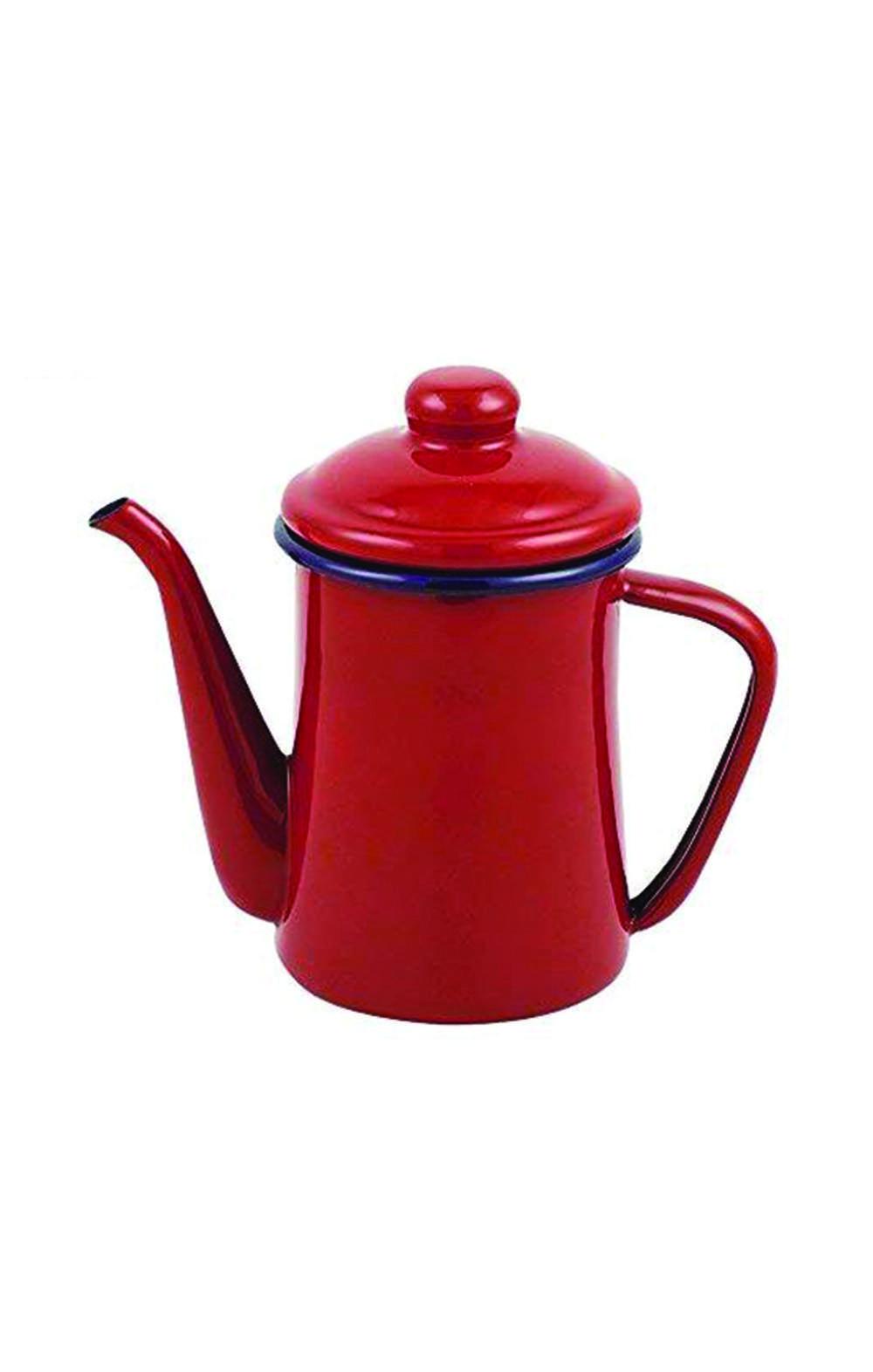 Pearl Metal  HB-4412 Coffee Pot Red 600ml ابريق قهوة