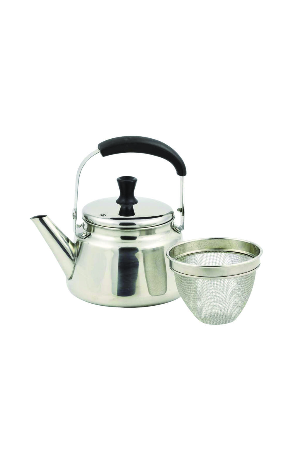 Pearl Metal   HB-4417 Kettle Silver 1.2L IH Compatible أبريق شاي
