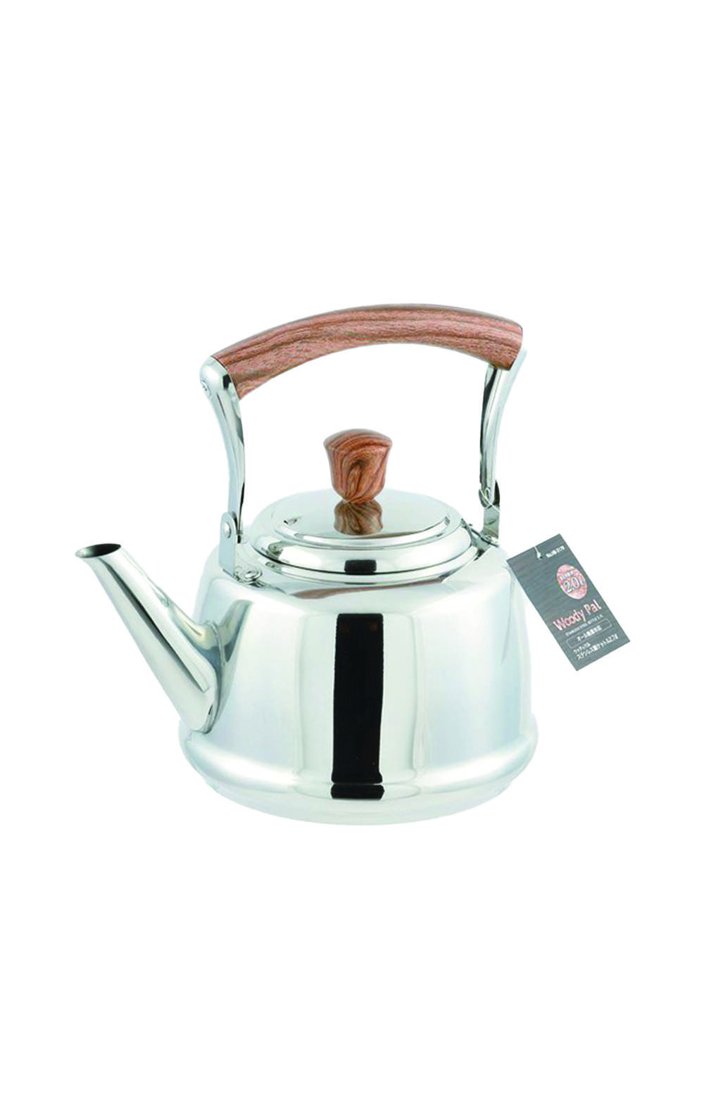 Pearl Metal PEARL HB-3179 Woody Pal Stainless Kettle 2.7L ابريق شاي