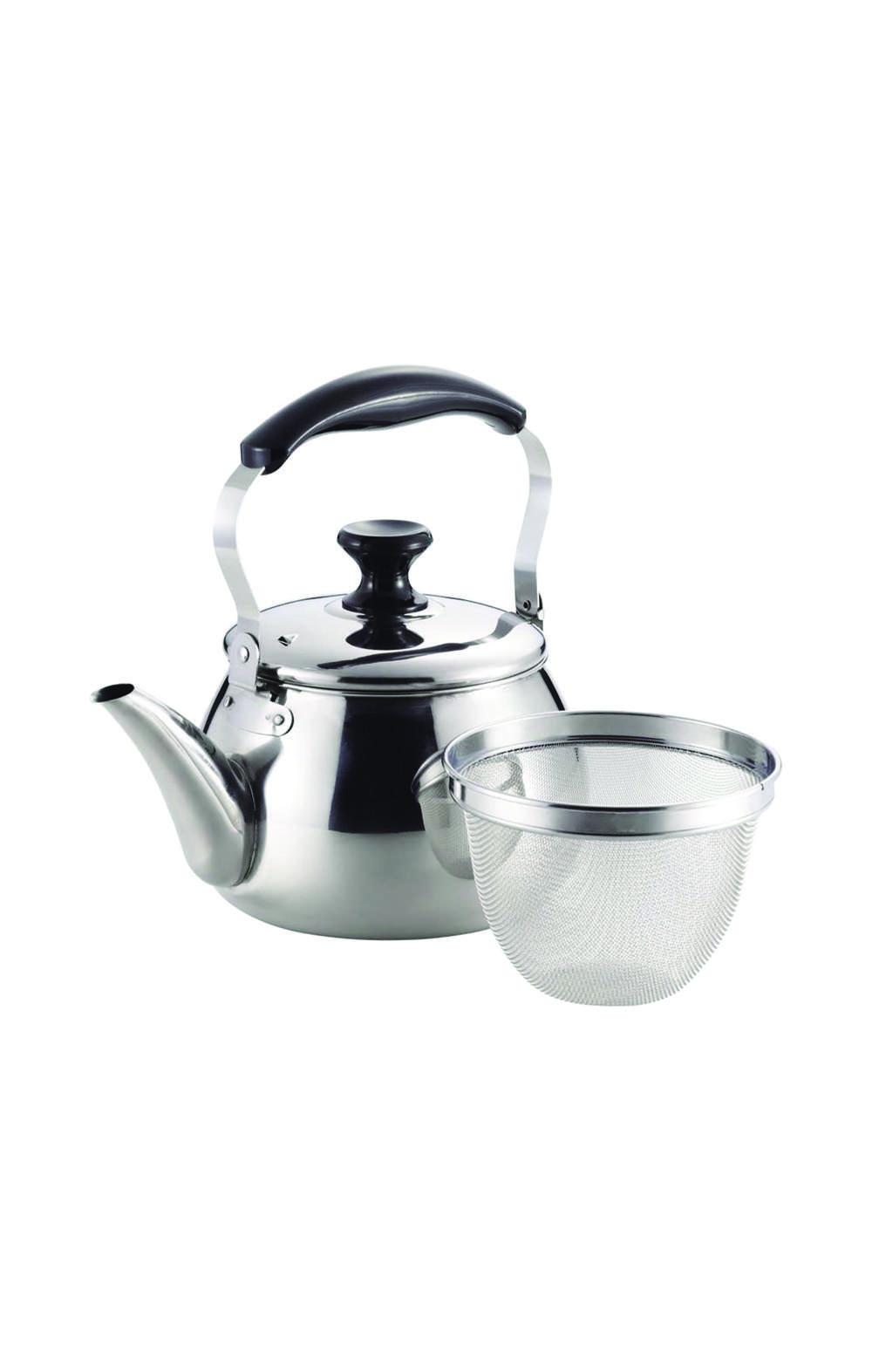 Pearl Metal HB-7125 Oruti 18-8 stainless steel kettle 3 L ابريق