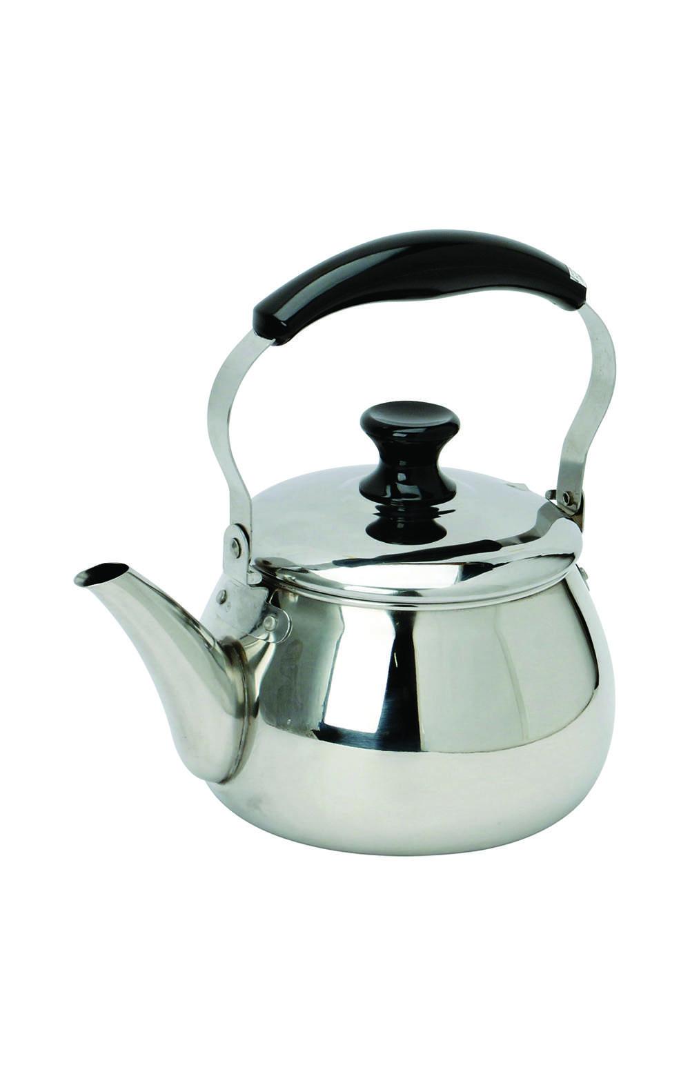 Pearl Metal HB-7124 Oruti 18-8 stainless steel kettle 1.6 L ابريق