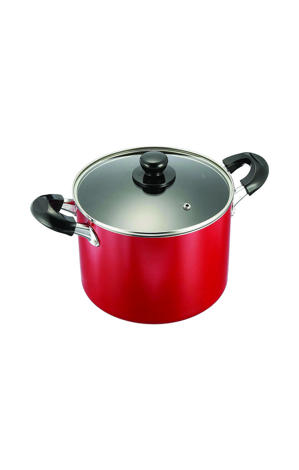 Pearl Metal HB-1449 with Glass Lid Half-Size Pan 21cm قدر