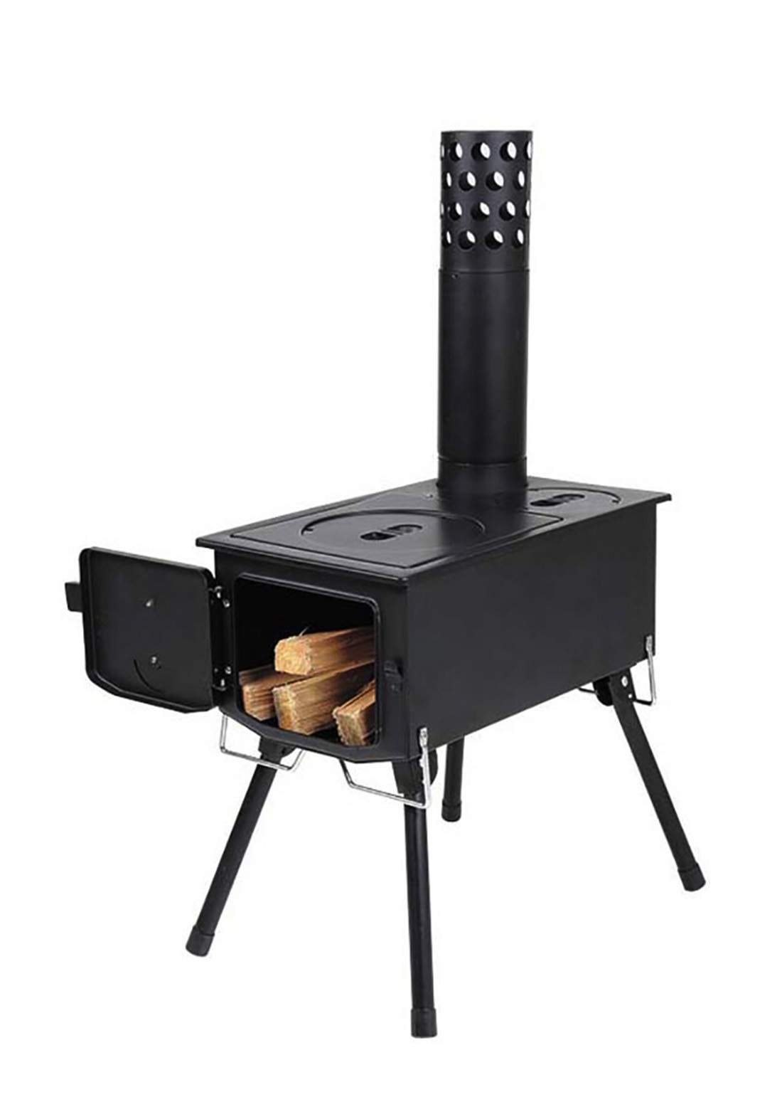 Captain Stag   UG-0051  Deer Iron Outdoor Wood StovePower Stove Camping Picnic Leisure Outdoor موقد مدخنة كامادو