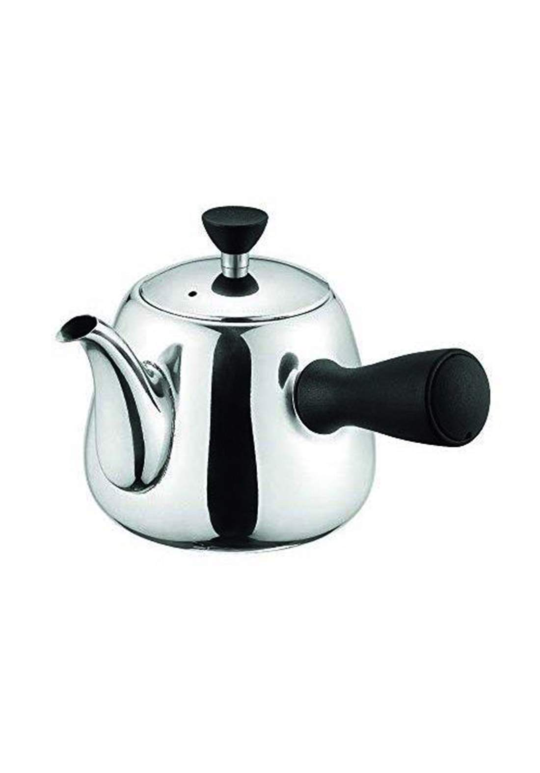 Pearl Metal HB-4421 Just Size Stainless Steel Teapot Sideways 600mL  Coffee Tea Supplies أبريق شاي