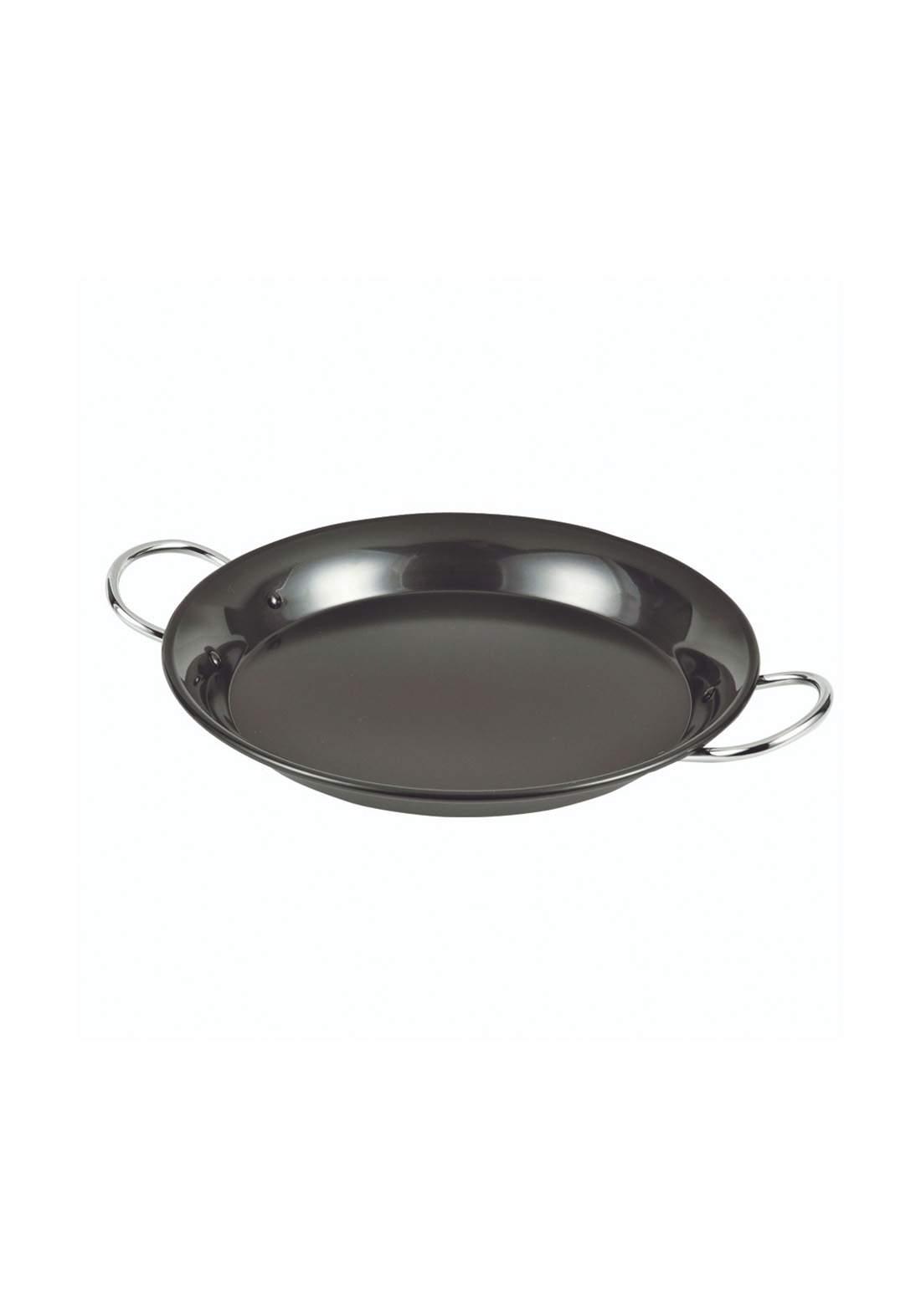 Pearl Metal HB-2650 La cooking iron round bread 27cm HB-2650-Black مقلاة دائرية الشكل