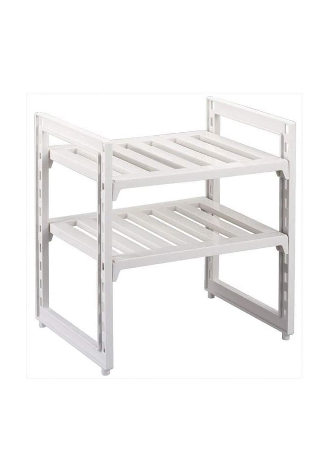 Pearl Metal H-9718 Arrangement Free 2 Shelves Under the Washbasin   رف متعدد الأستخدام