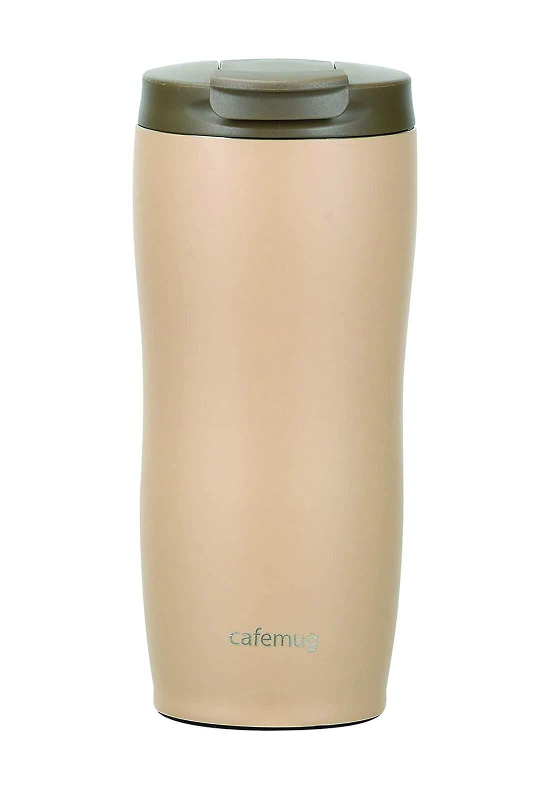 Pearl Metal HB-5169  Cafe Mug Tumbler with Lid 360 كوب قهوة