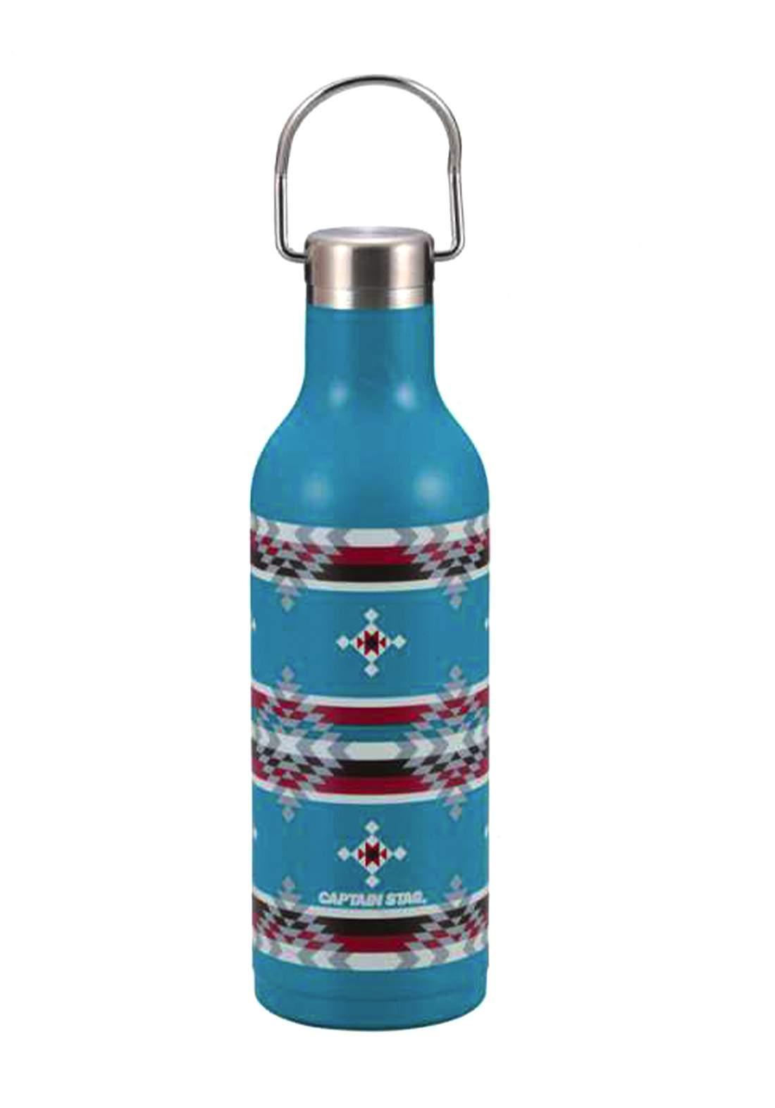Captain Stag UE-3464 Native Hanger Bottle 480ml Blue UE-3464 ترمس حراري