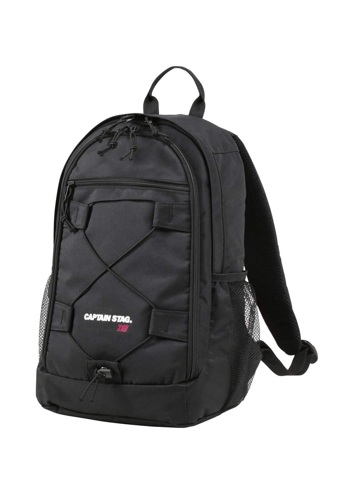 Captain Stag Um-2321 Rucksack Backpack Mountaineering Bag Trekking Zack Day Bag Black Feel Bosco حقيبة ظهر رياضية
