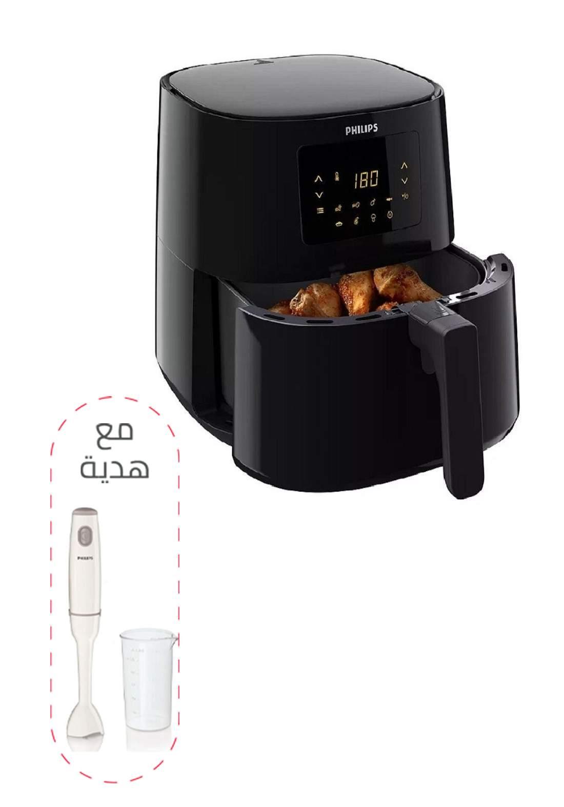 عرض مقلاة هوائية كهربائية +خلاط يدوي هدية