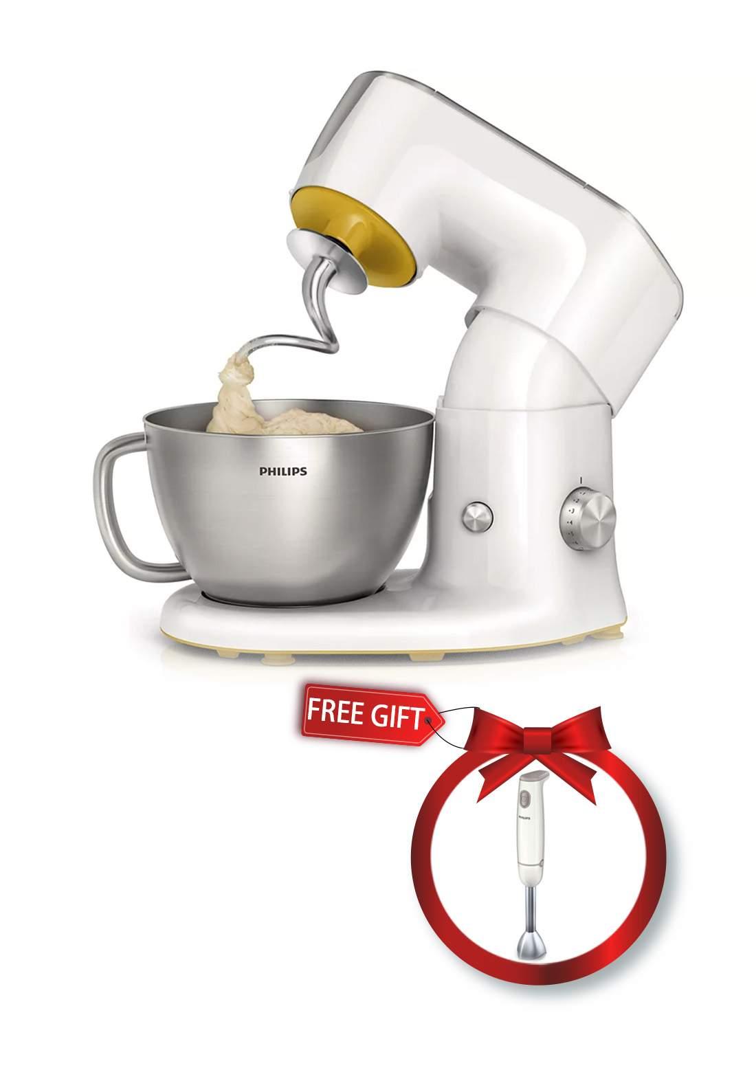 Philips HR7954 Kitchen Machine and Philips HR1605 Hand Mixer عرض عجانة كهربائية + خلاط يدوي