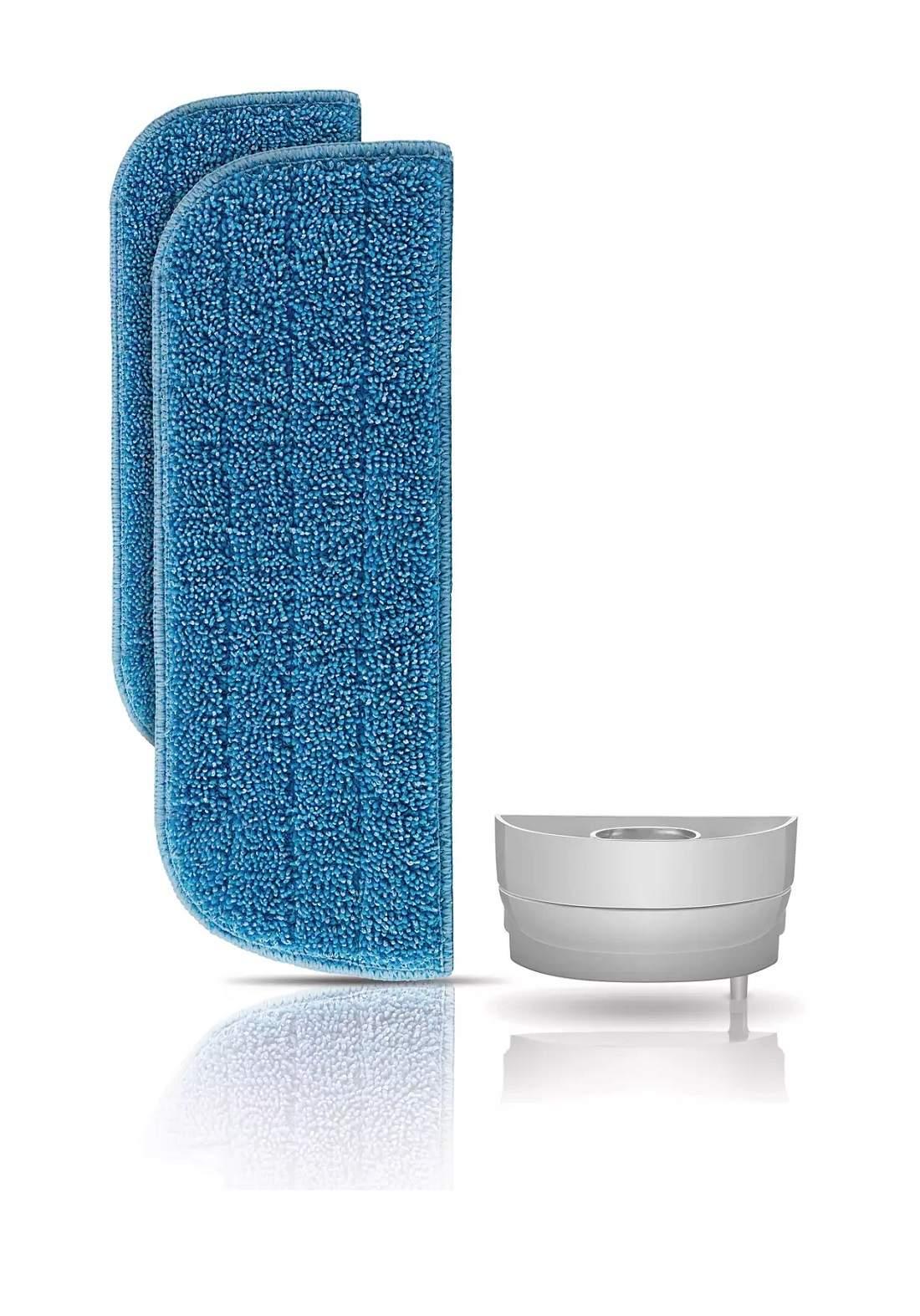 Philips Fc8056 Two Washable Micro-Fiber Brushes Active Calc Filter  فرشتان من الألياف الدقيقة المكنسة البخارية