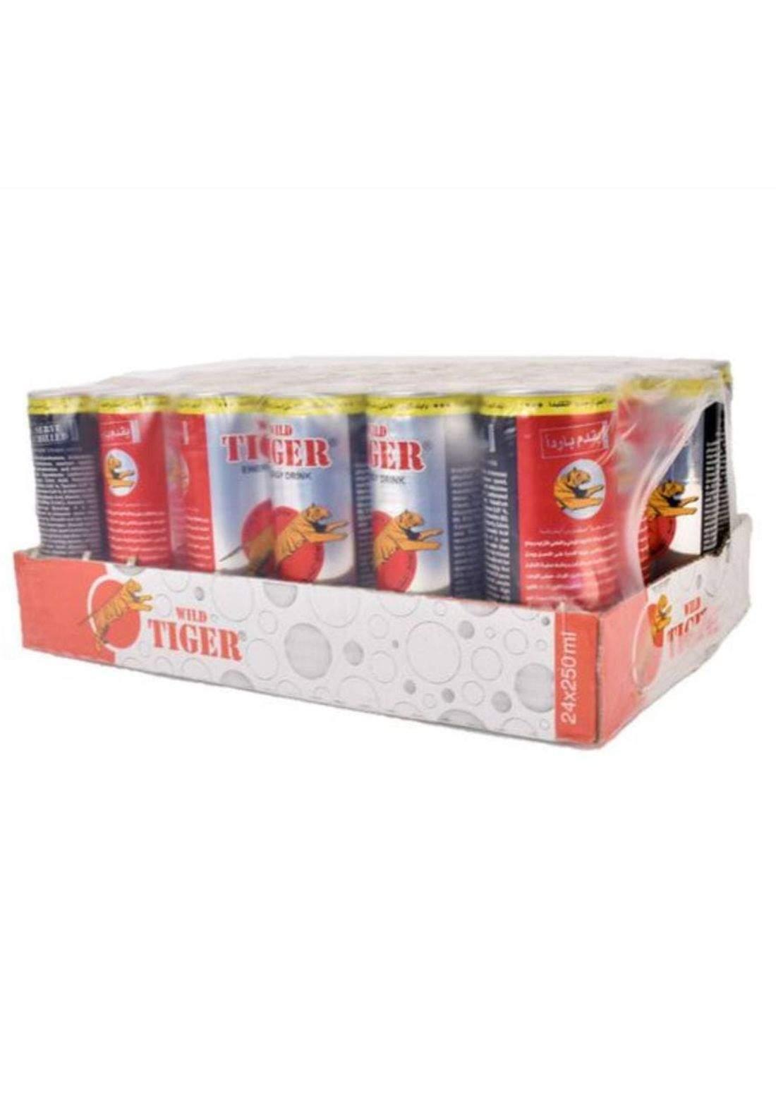 Tiger Energy Drink مشروب طاقة تايجر صندوق 24 قطعة
