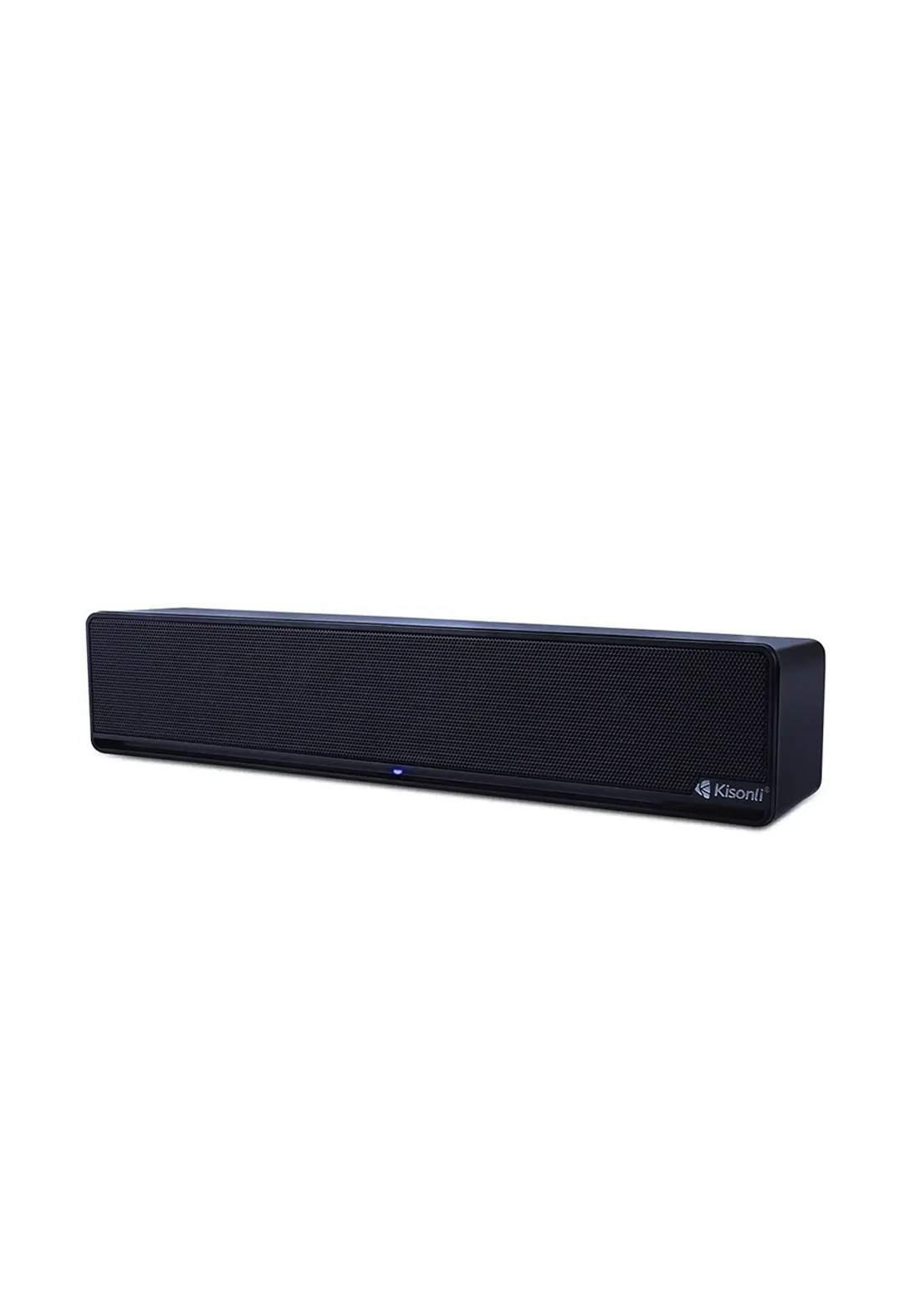 Kisonli I-510 USB 2.0 High Quality Single Speaker - Black سبيكر