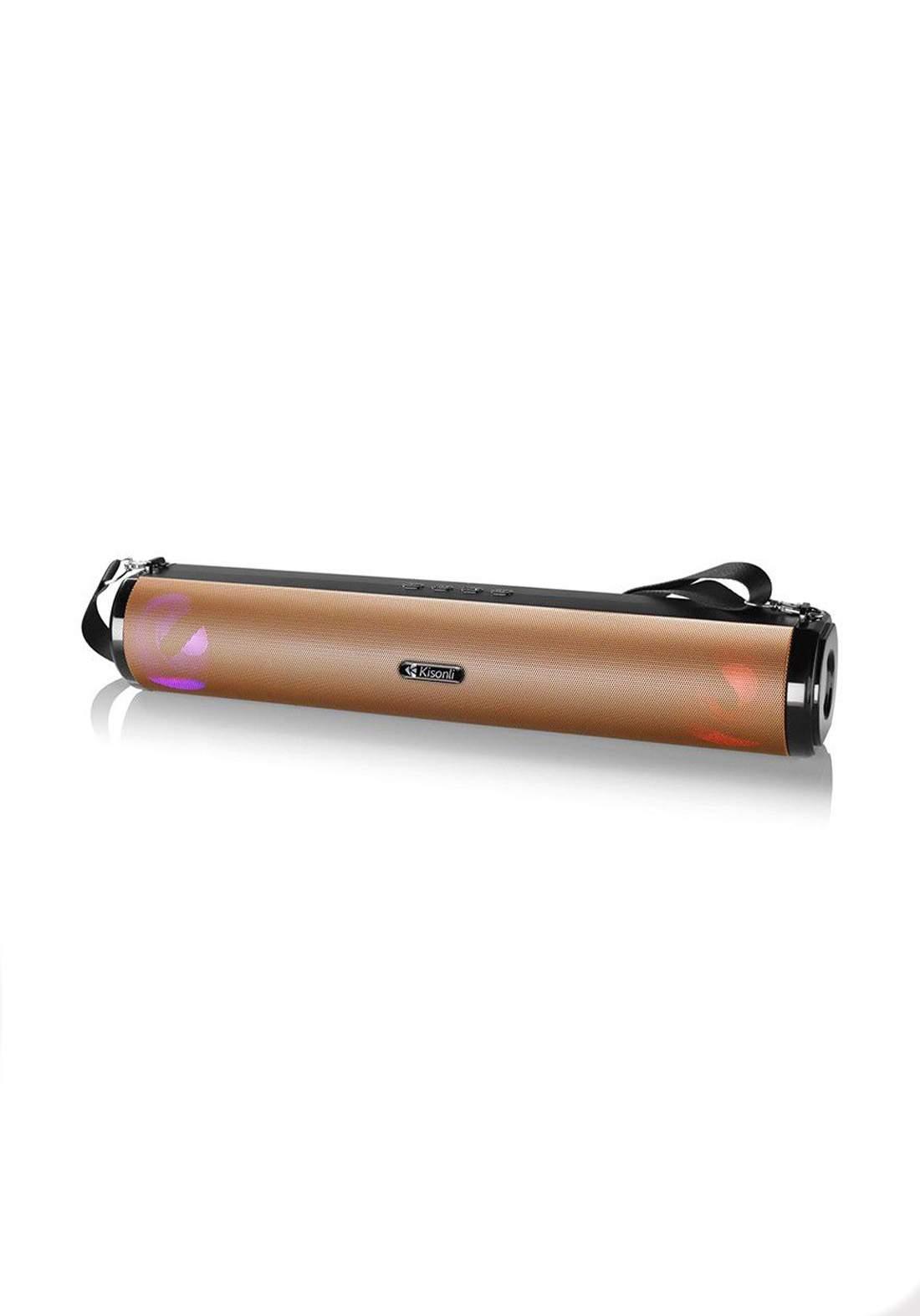 Kisonli  LED-901 Active Portable Blue-Tooth Speaker سبيكر
