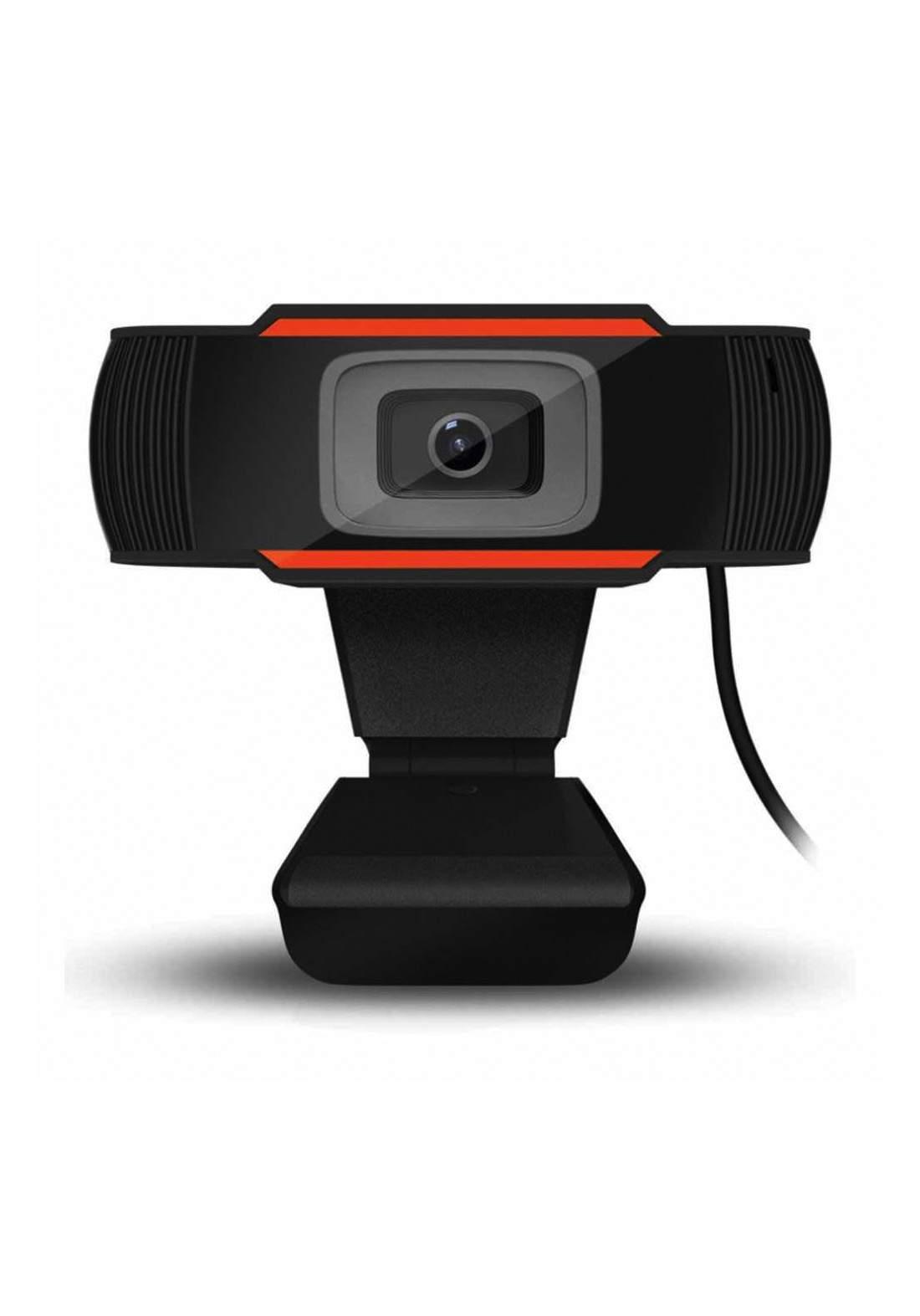 Microcase WC201C Webcam Hd 720p Usb Microphone Video Zoom - Black كاميرا ويب