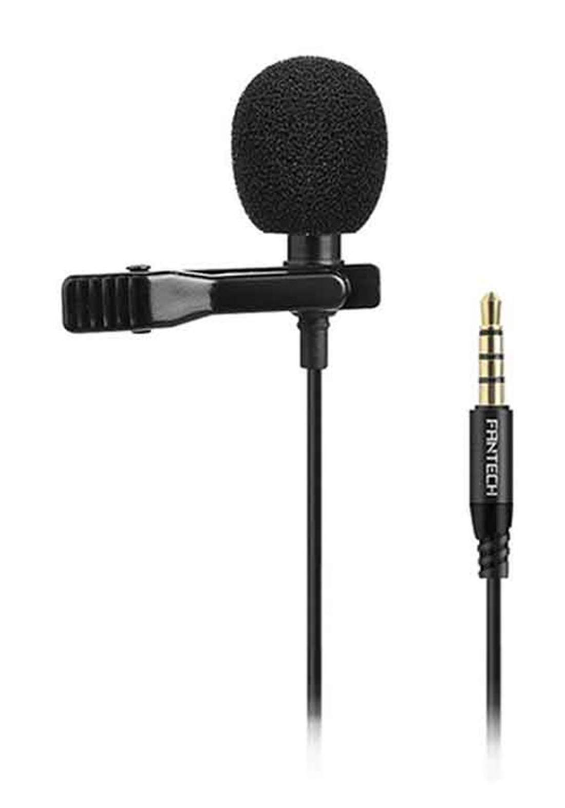 Fantech MV-01 Lavalier Microphone - Black مايكروفون